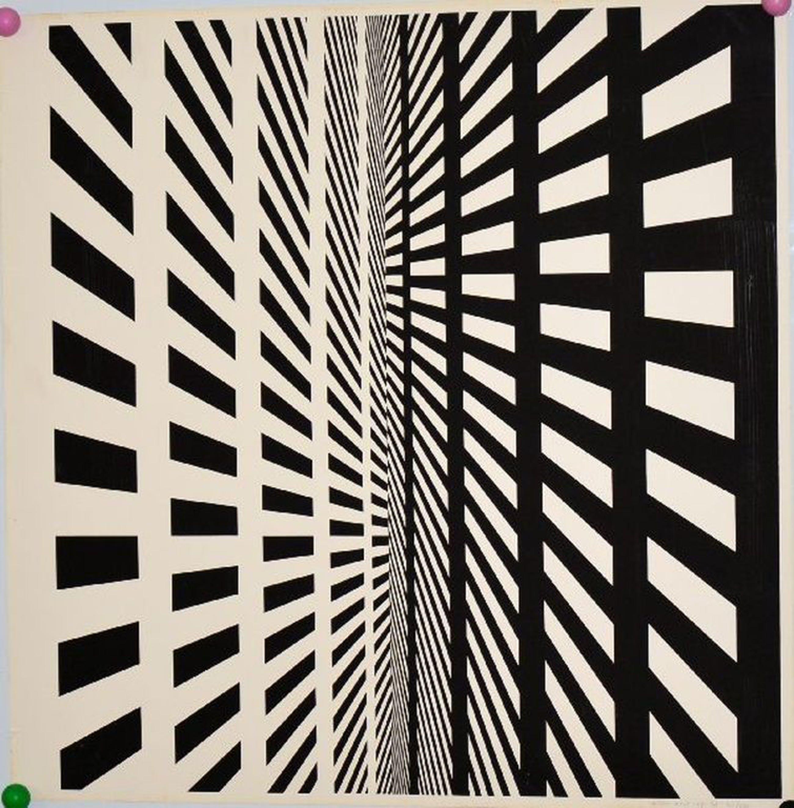 Willem Maat: Zeefdruk. Abstracte compositie. kopen? Bied vanaf 1!