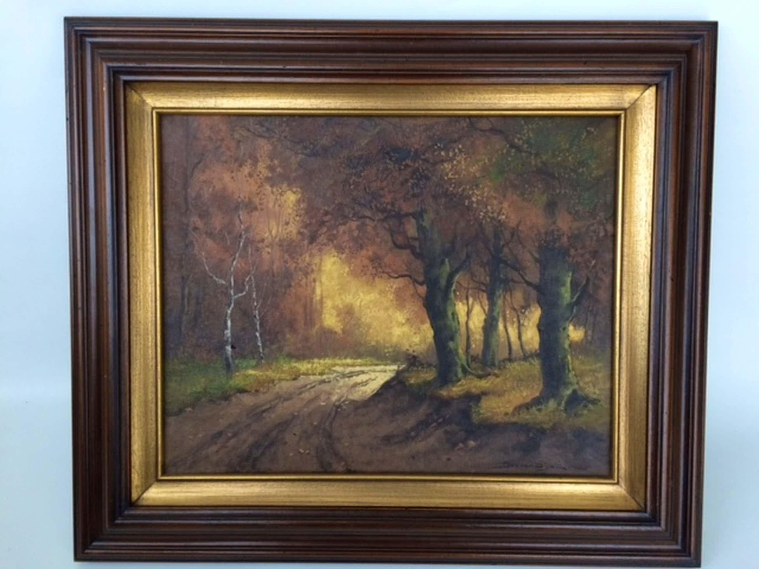 Jos van Dijk (1913 - 2000) - Landschap  kopen? Bied vanaf 80!
