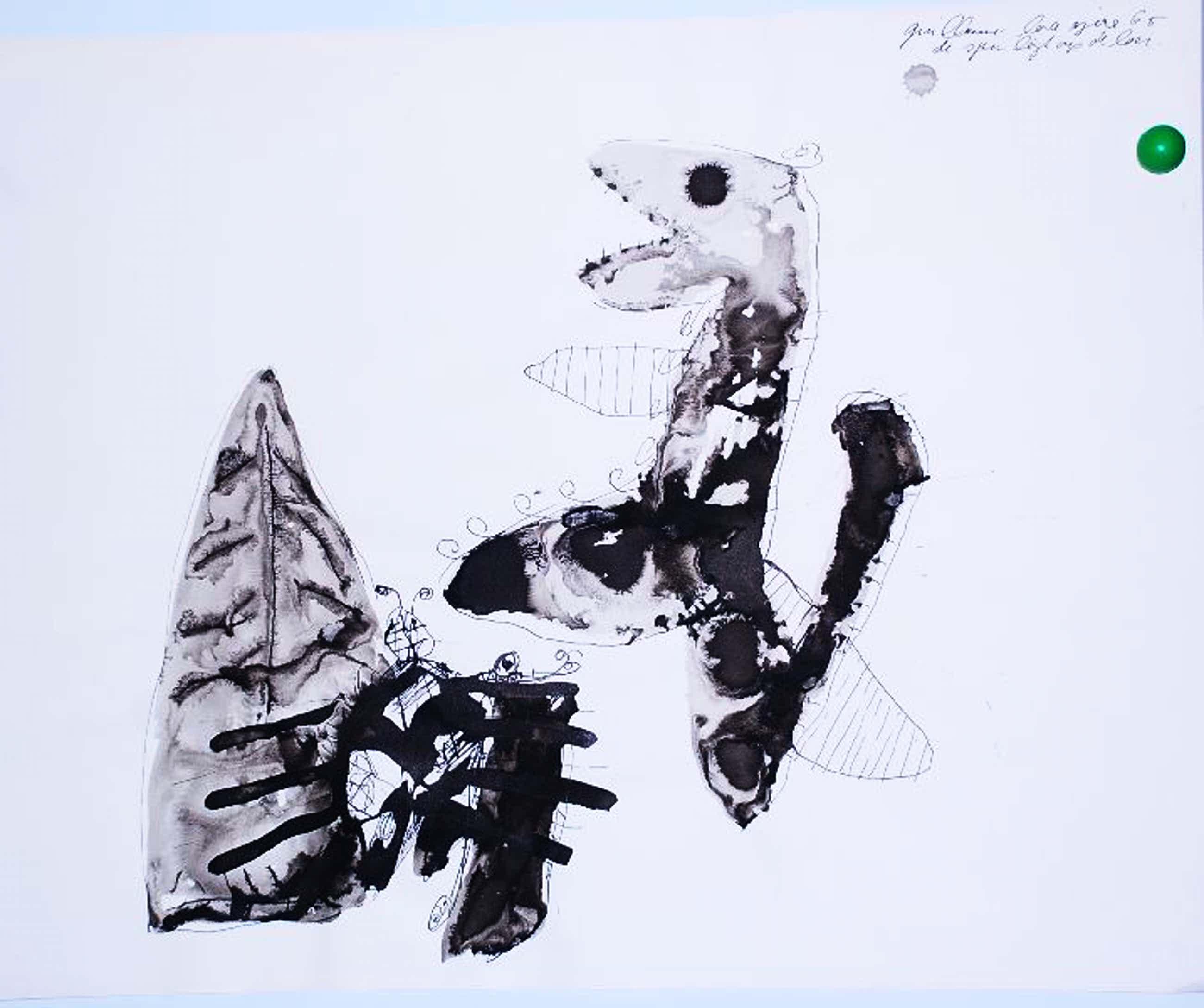 Guillaume Lo-A-Njoe: Origineel werk. Inkt/Aquarel op papier kopen? Bied vanaf 60!