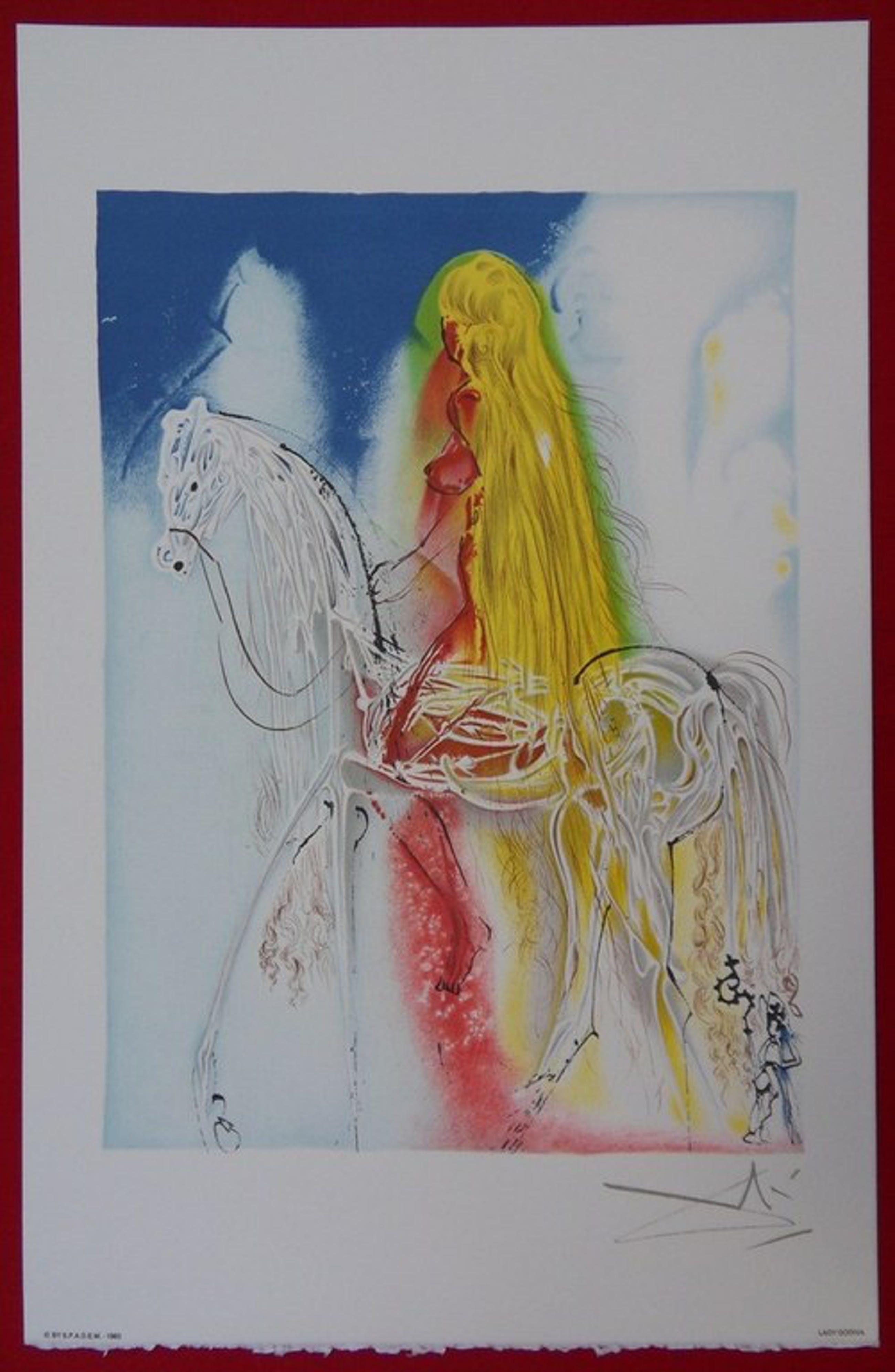 Salvador Dali : Lady Godiva ( les chevaux daliniens ) kopen? Bied vanaf 135!