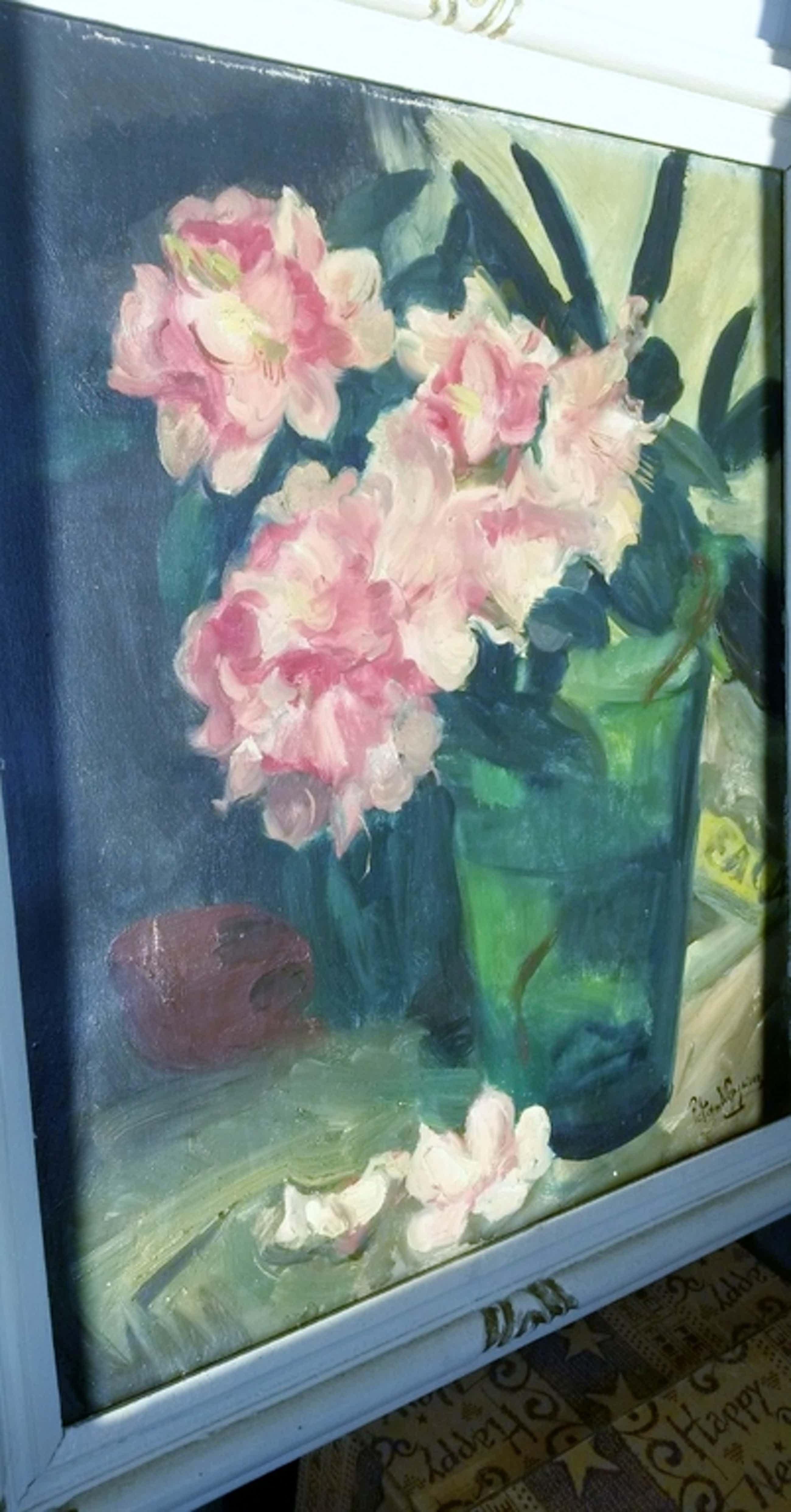 Piet van Wijngaerdt, Magnolia's in groen glas kopen? Bied vanaf 550!