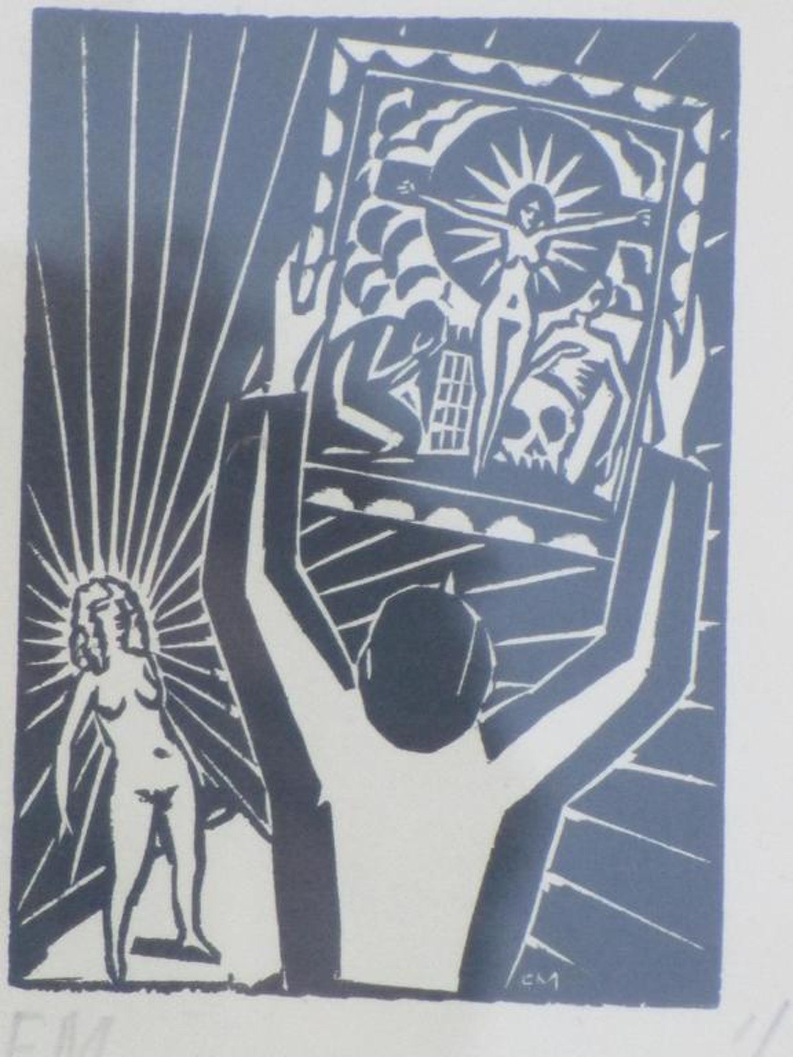 Frans Masereel, De aanbidding van de Madonna, Houtsnede kopen? Bied vanaf 40!