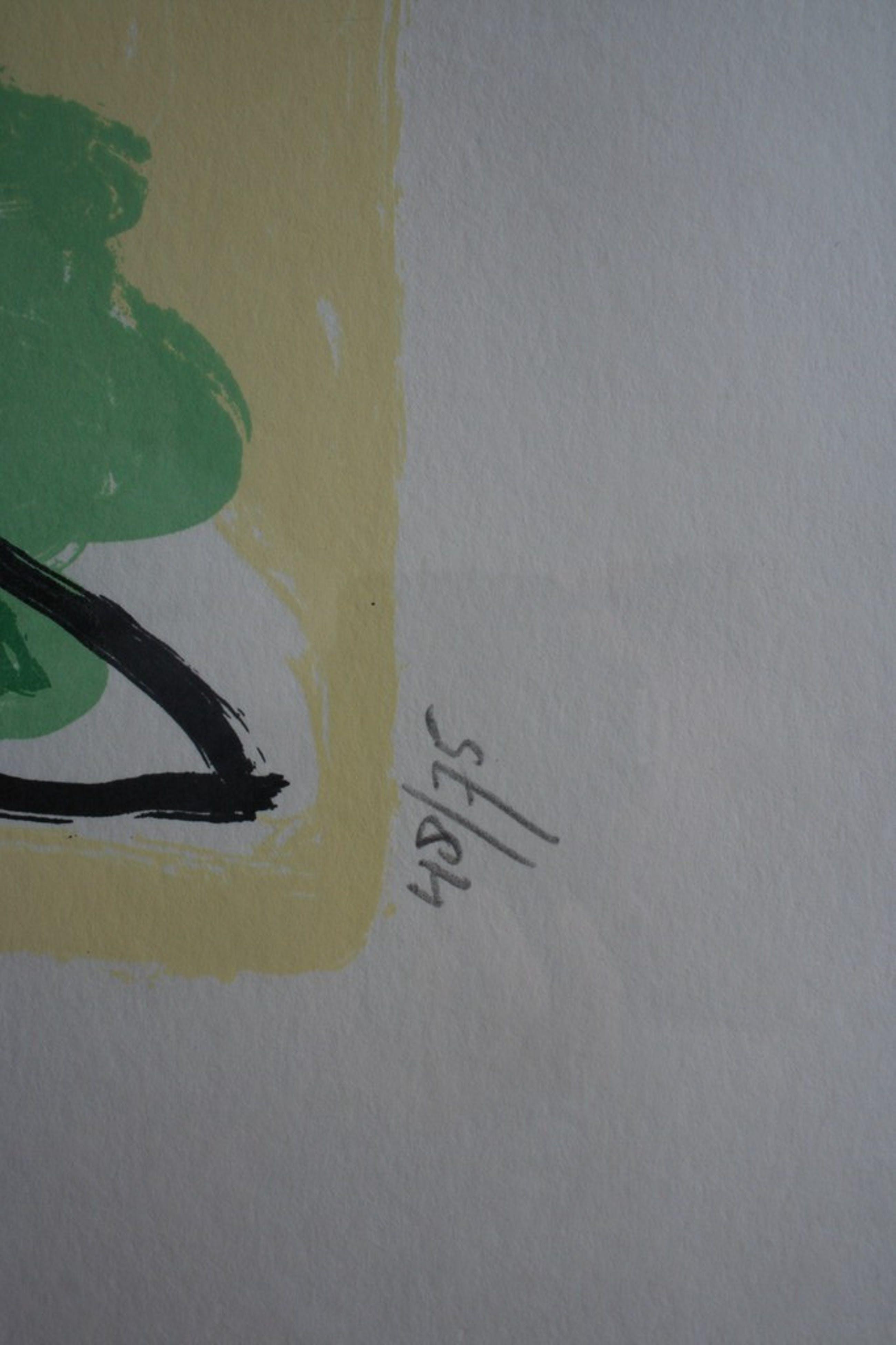 Moderne compositie, zeefdruk, 1996, gesigneerd en genummerd kopen? Bied vanaf 1!