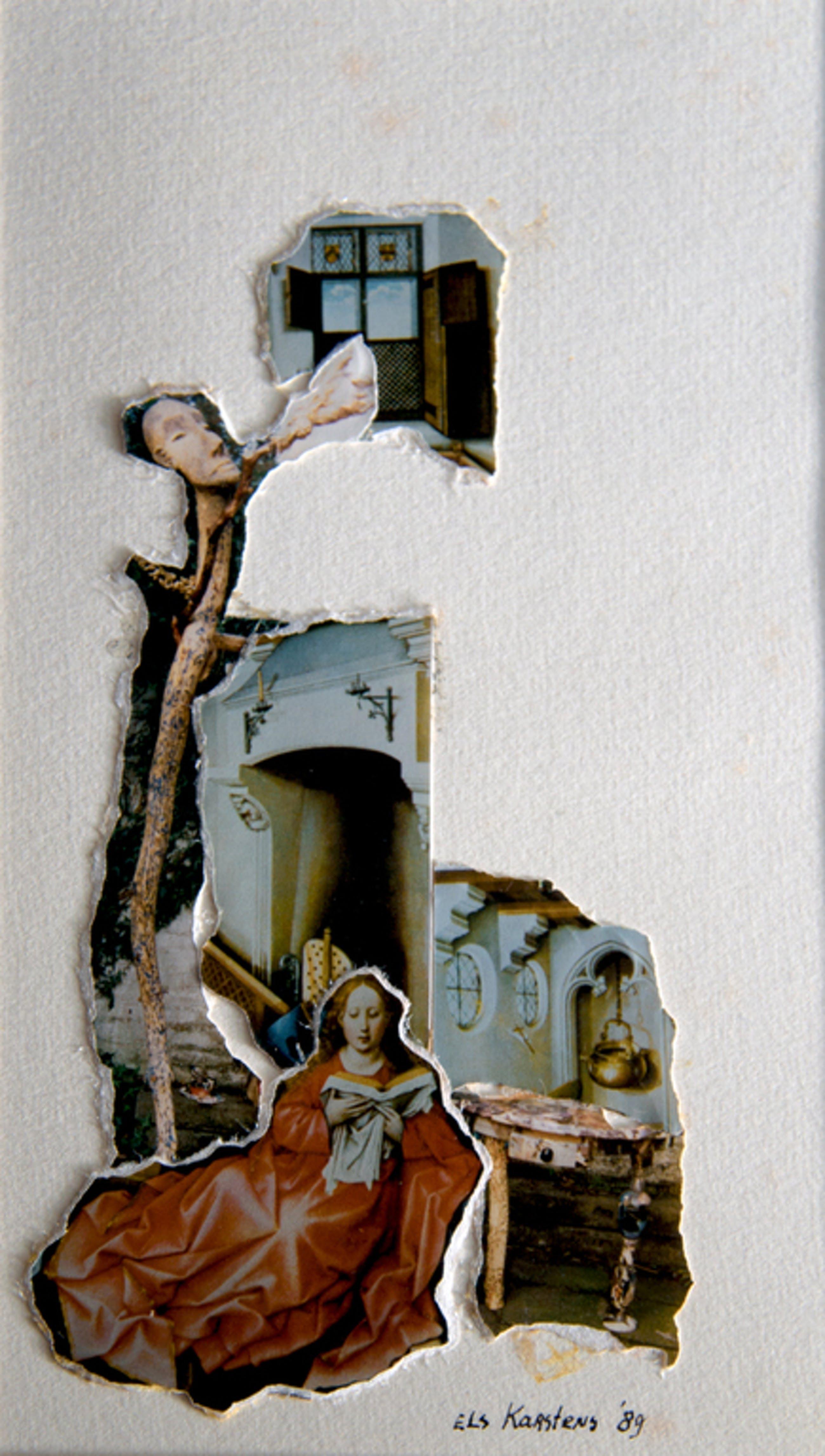 Elisabeth Karstens, Foto collage, Annunciatie-4 kopen? Bied vanaf 1!
