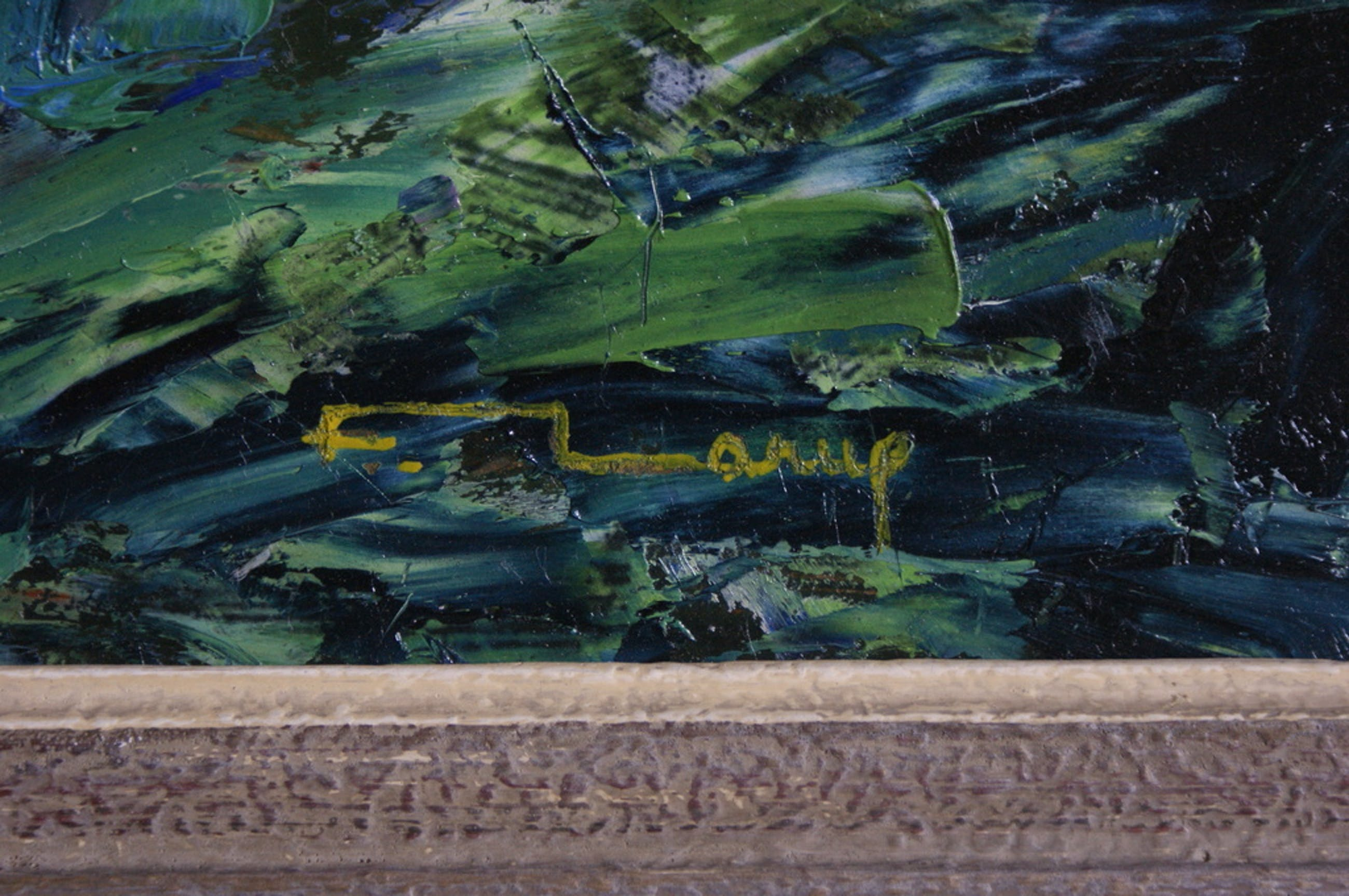 Fernand Larue (1916-1999) Olieverf op paneel/board - gesigneerd kopen? Bied vanaf 250!