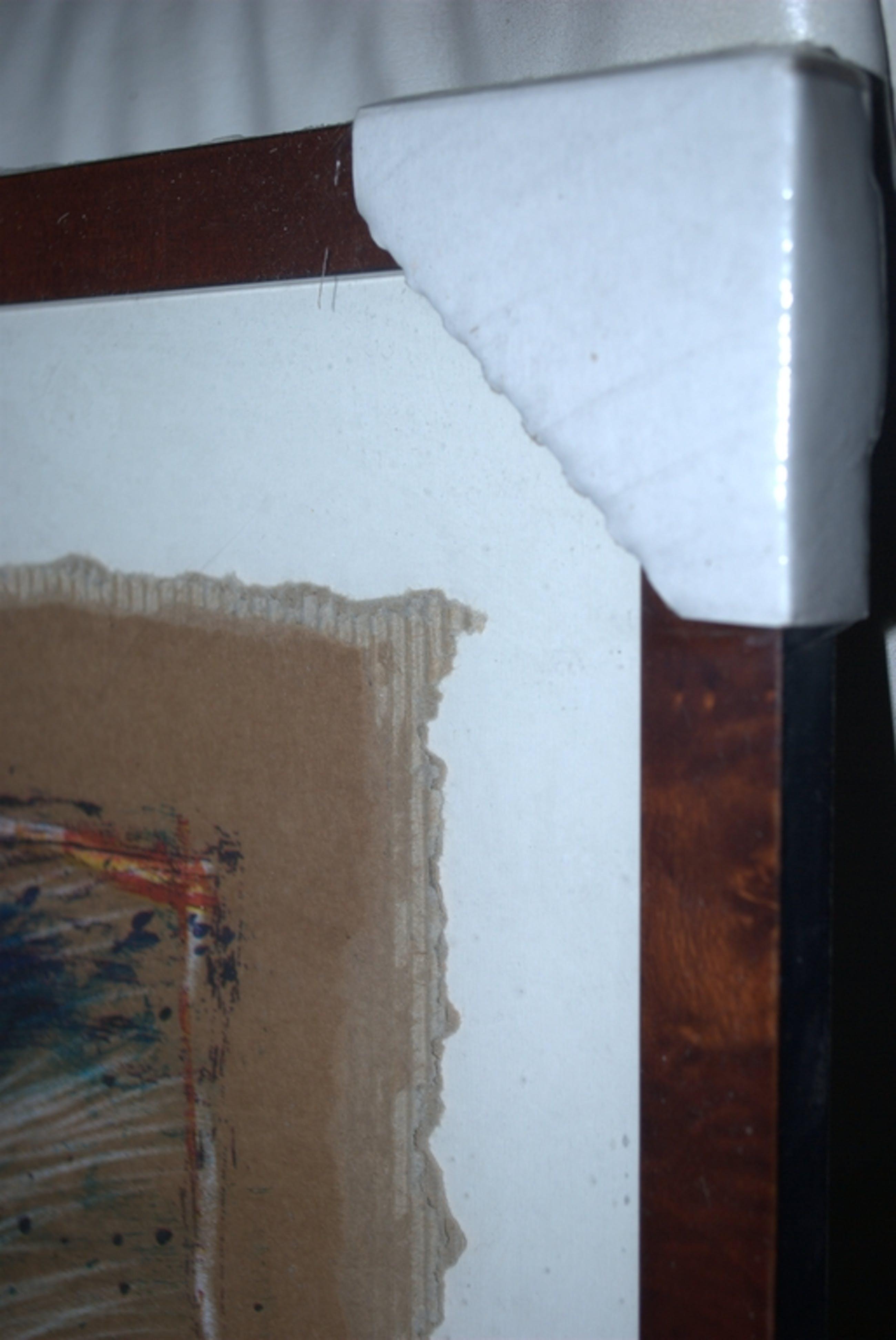 Zeefdruk opl.160 ex--Man met schilderspalet--Nieuw ingelijst kopen? Bied vanaf 20!