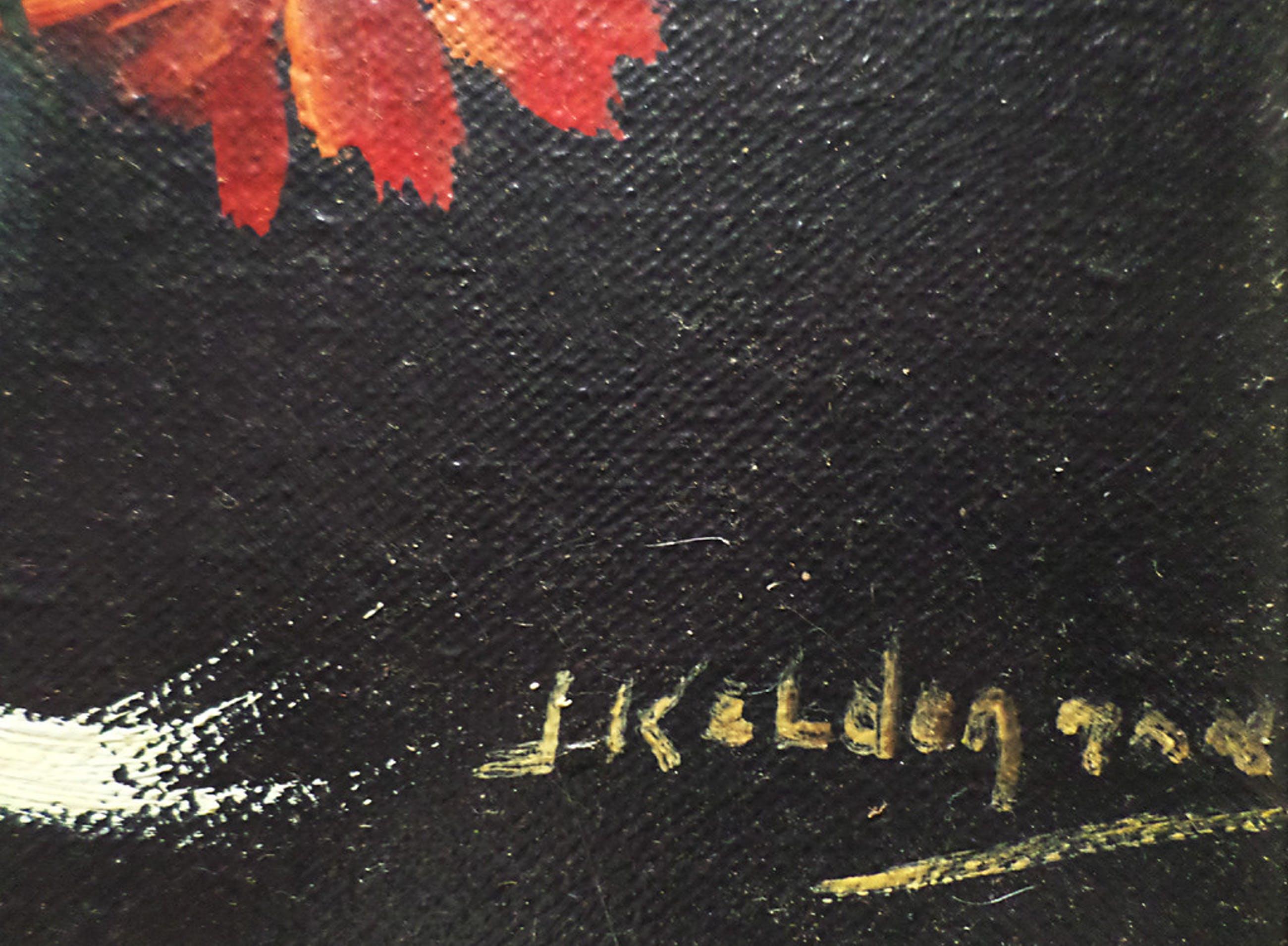 Jan Kelderman - Kleurensymphonie, olieverf op doek (ingelijst) kopen? Bied vanaf 1!