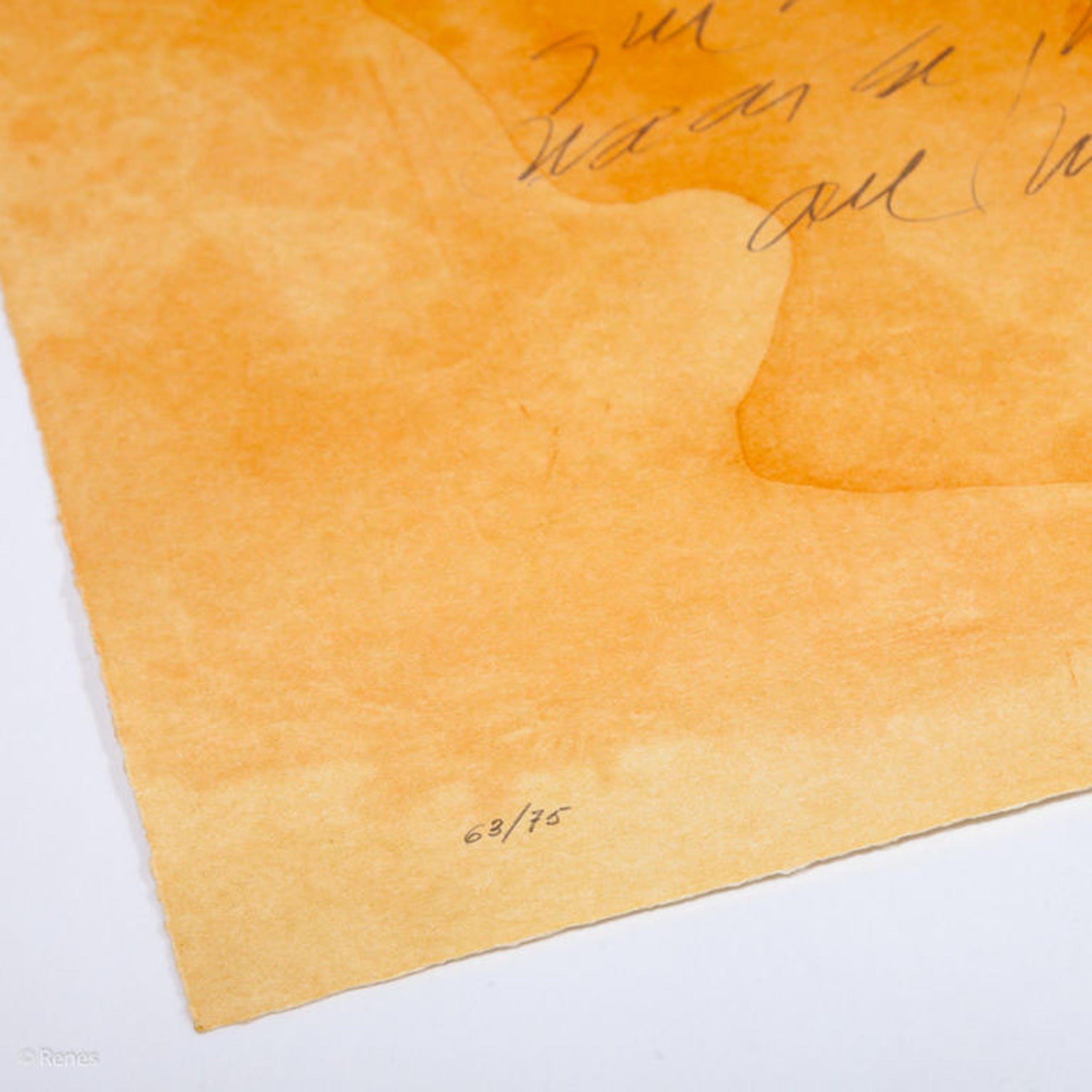 Guillermo Conte 'El corazón' - kleuren ets, oplage 75, handgesigneerd, 1999 kopen? Bied vanaf 139!