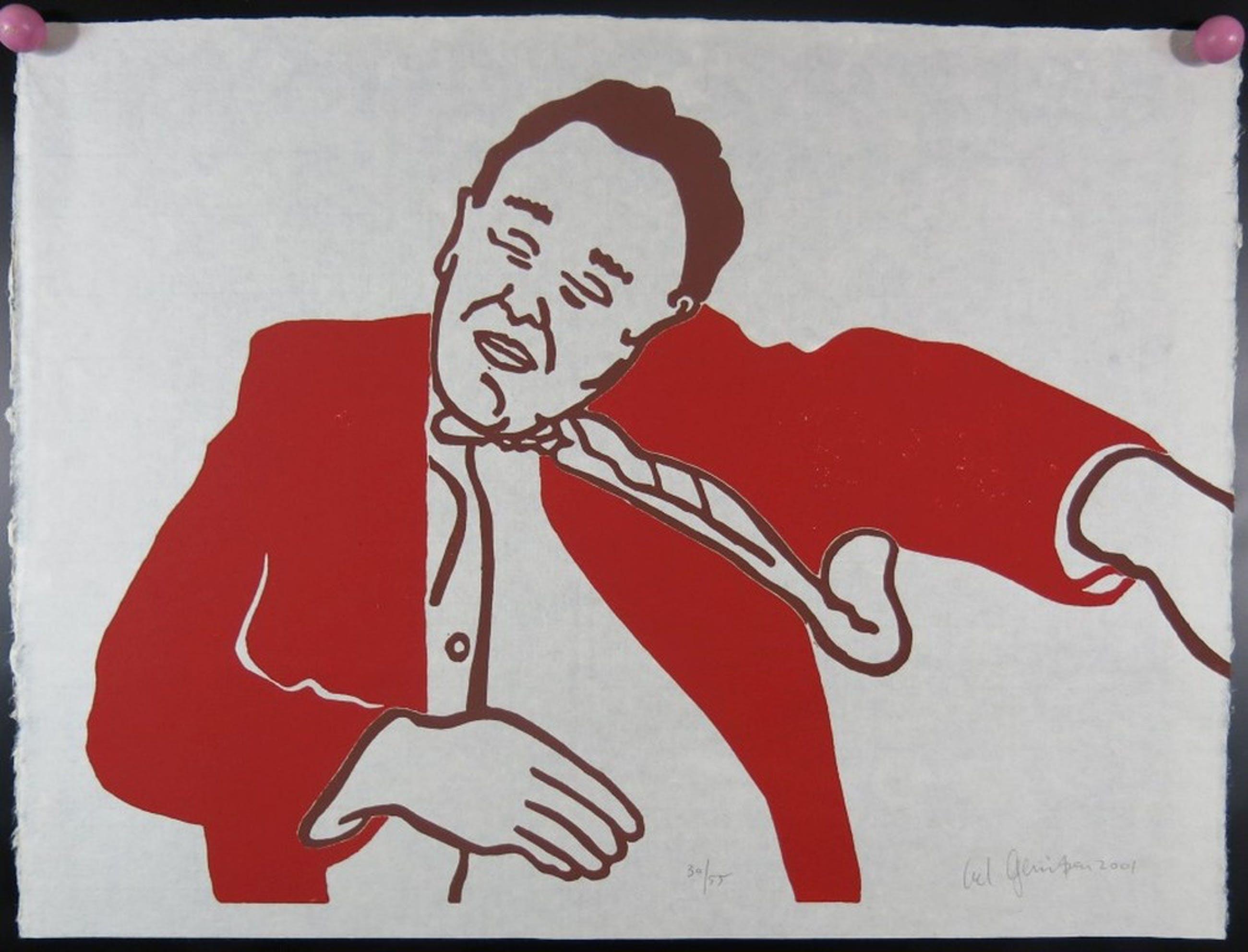 Ad gerritsen: Lino, Slapende Man kopen? Bied vanaf 1!