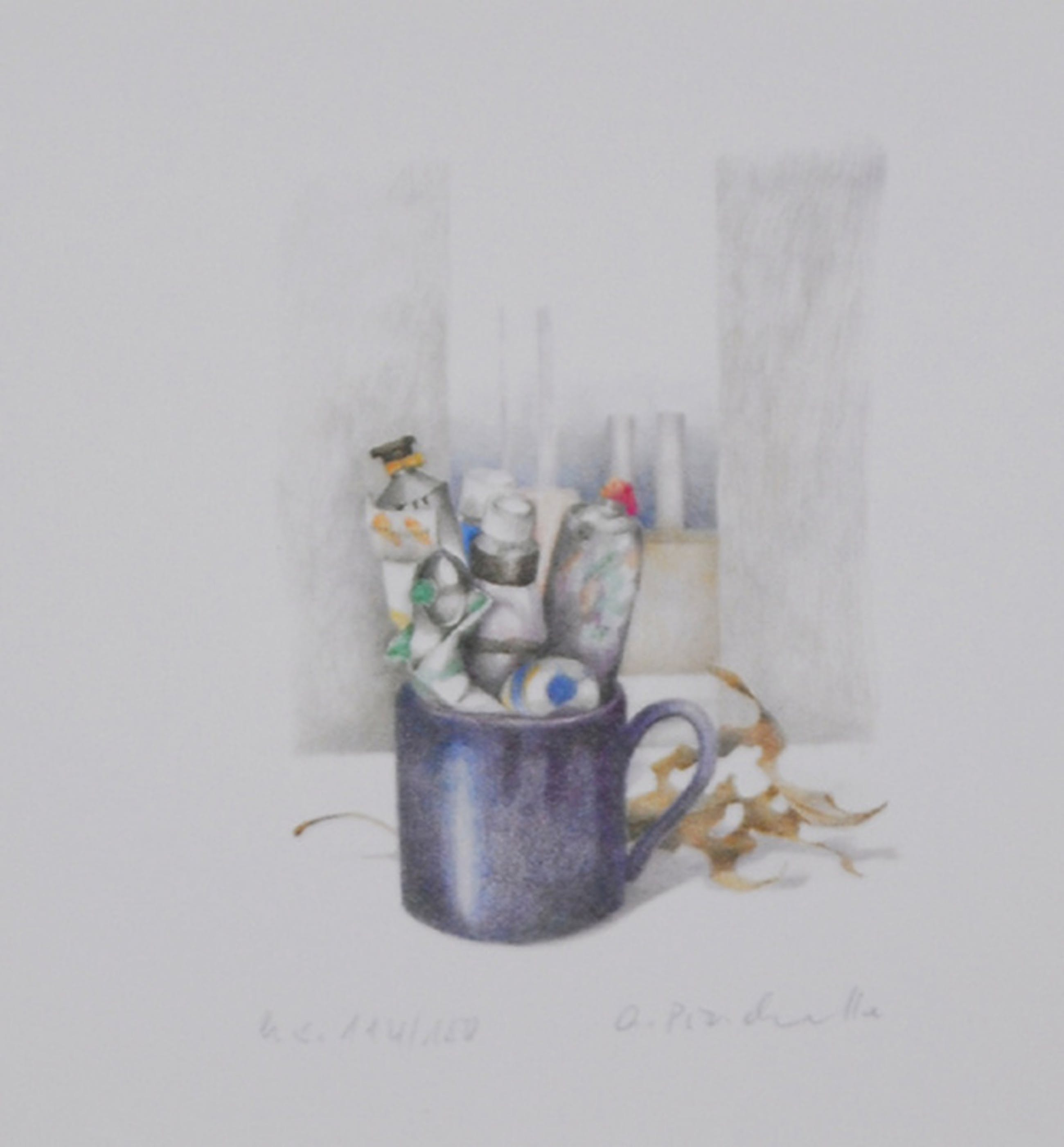Anneke Pinckernelle: Lithografie, Farbtuben kopen? Bied vanaf 3!