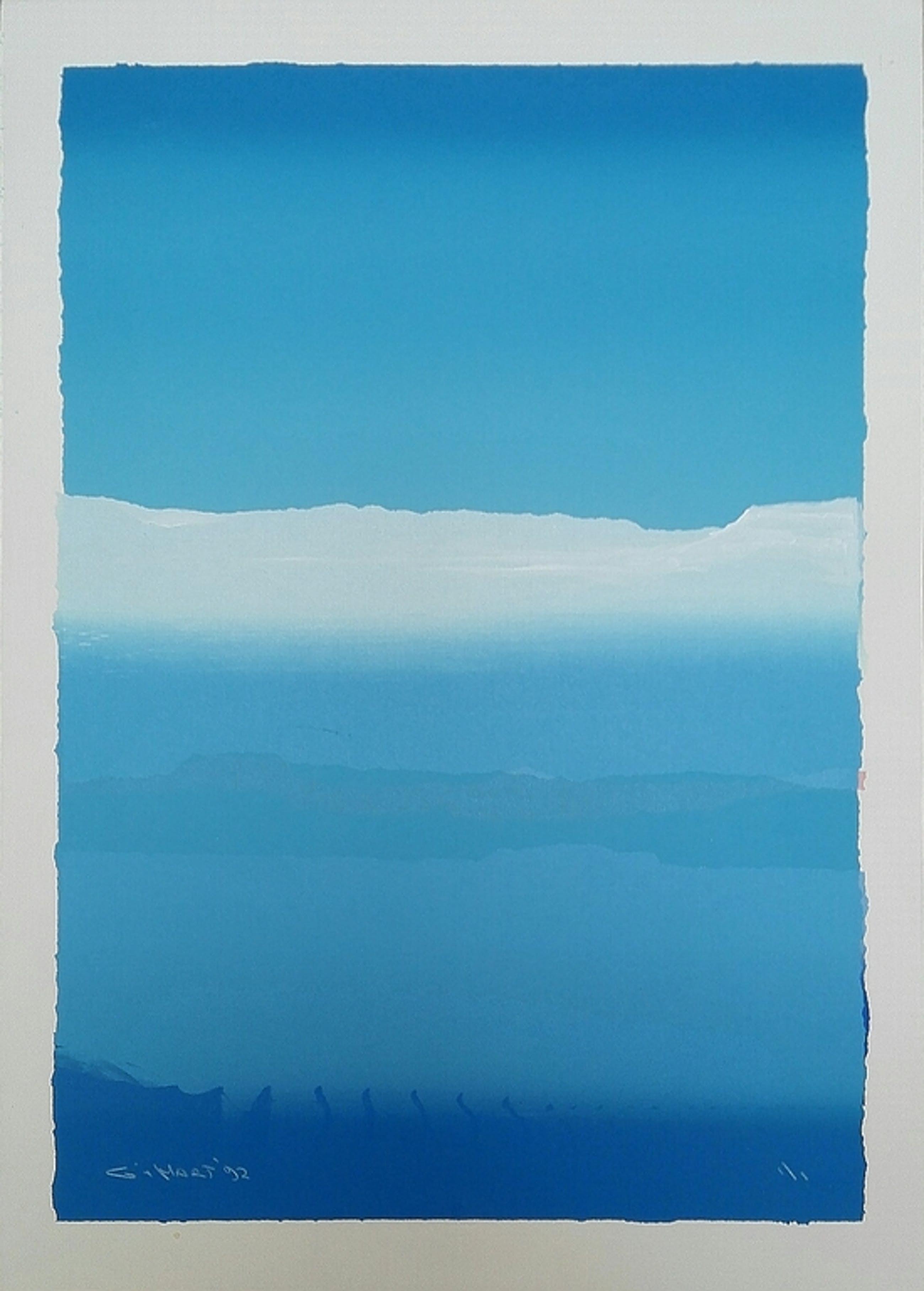 Gerard 't Hart, zeefdruk op papier, Titel:Himalaya kopen? Bied vanaf 30!