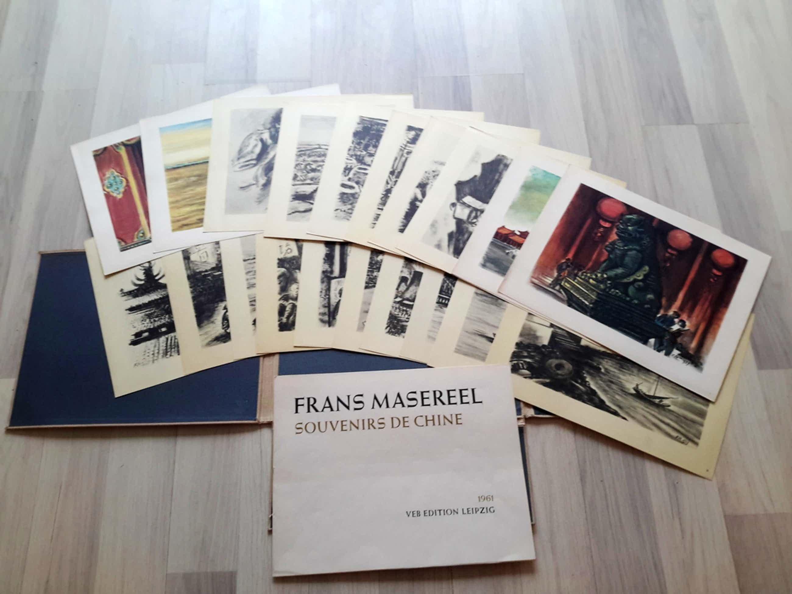 Frans Masereel souvenirs de chine portfolio met 20 prenten van Frans Masereel  kopen? Bied vanaf 50!