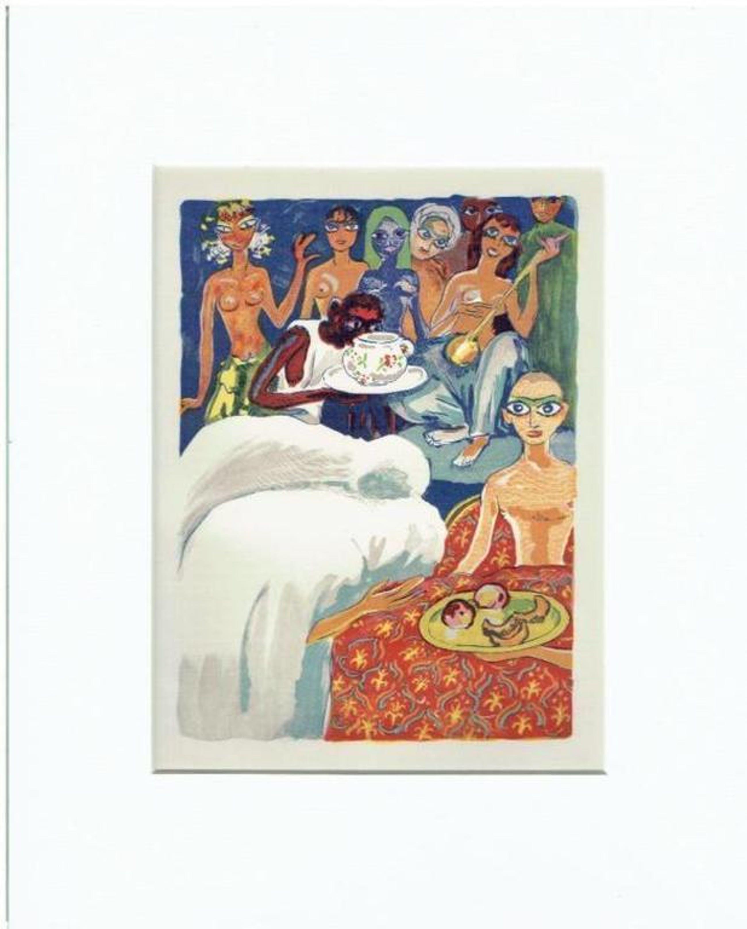 Kees van Dongen - Houtgravure- Le Reveil d'Aboul-Hassan kopen? Bied vanaf 1!