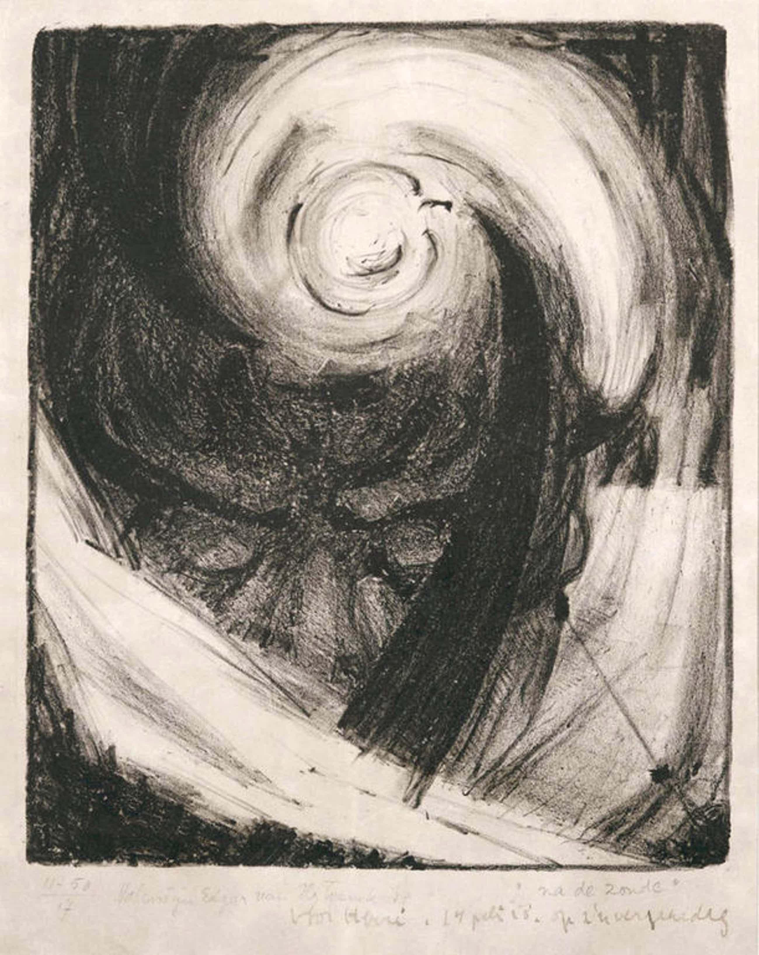Valentijn E. van Uytvanck: Litho - 'Na de zonde' 1917 kopen? Bied vanaf 50!
