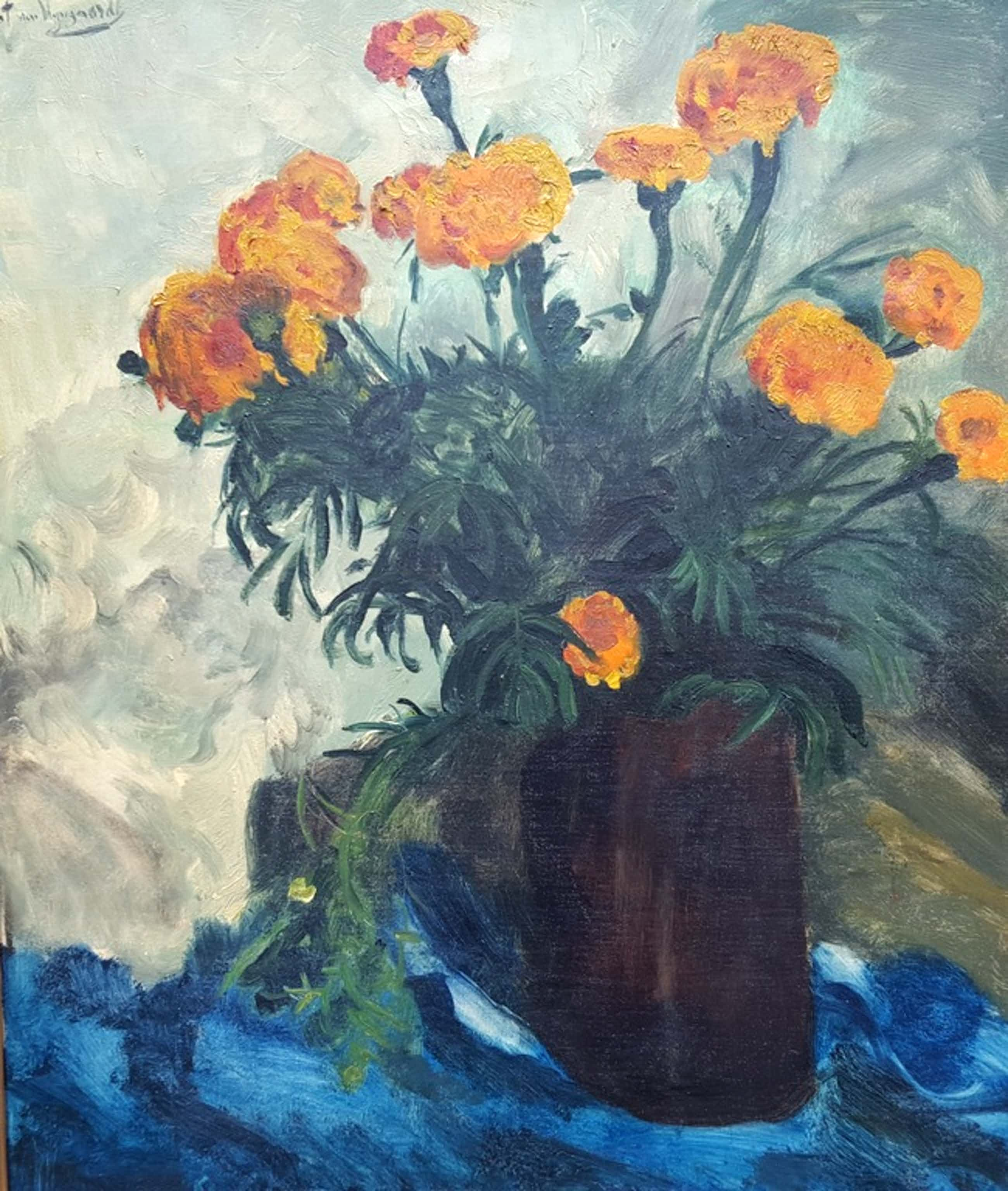 Piet van Wijngaerdt (1873-1964) - olie op doek, gesigneerd kopen? Bied vanaf 775!
