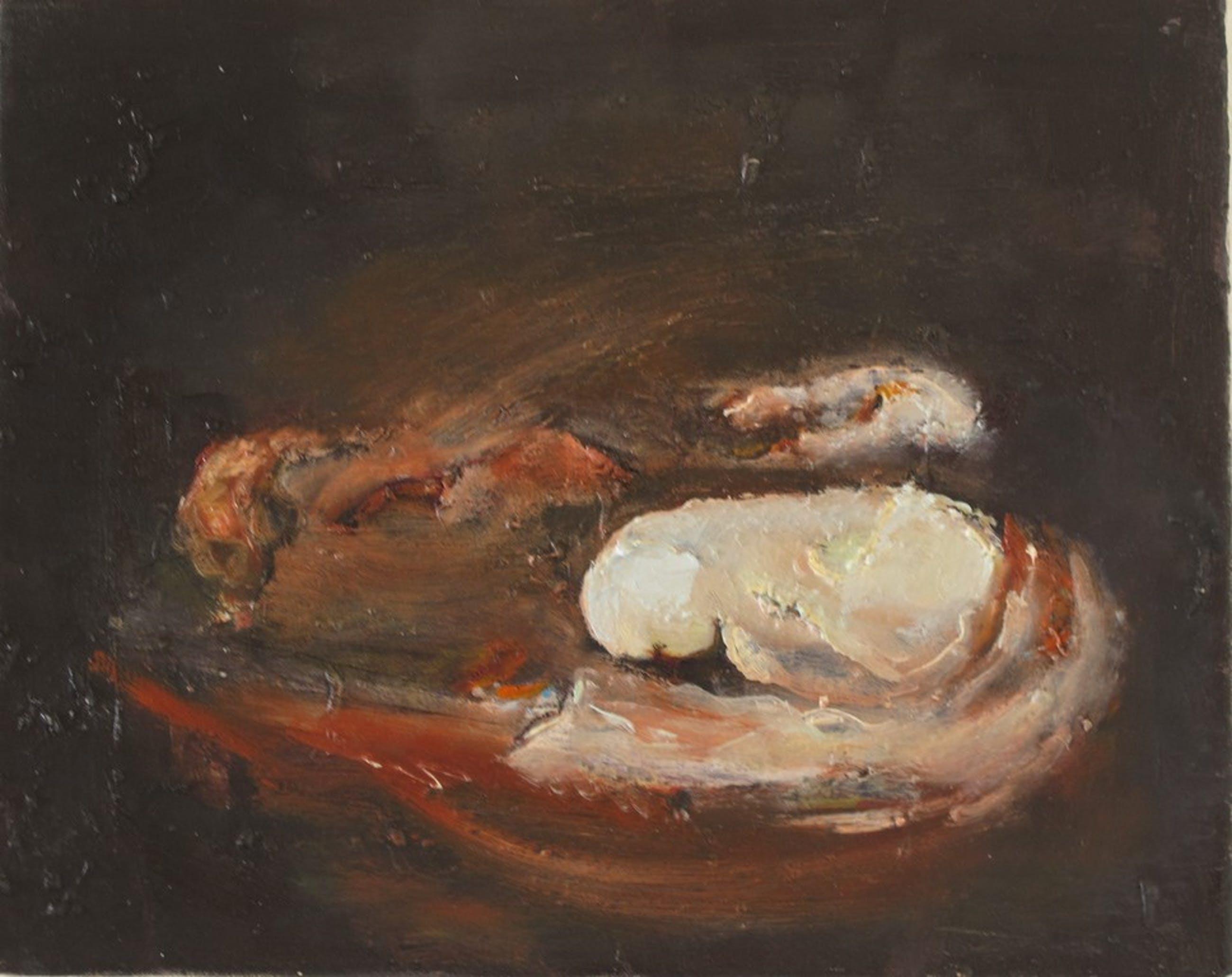 Ineke VanderWal 'Underneath whilst I was sleeping' 1 2012 oil on canvas 24 x30cm kopen? Bied vanaf 20!