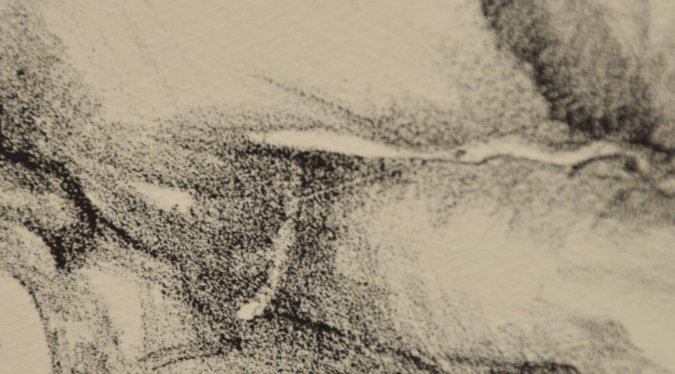Margriet Oomen - Lithografie - Zittend stel kopen? Bied vanaf 15!