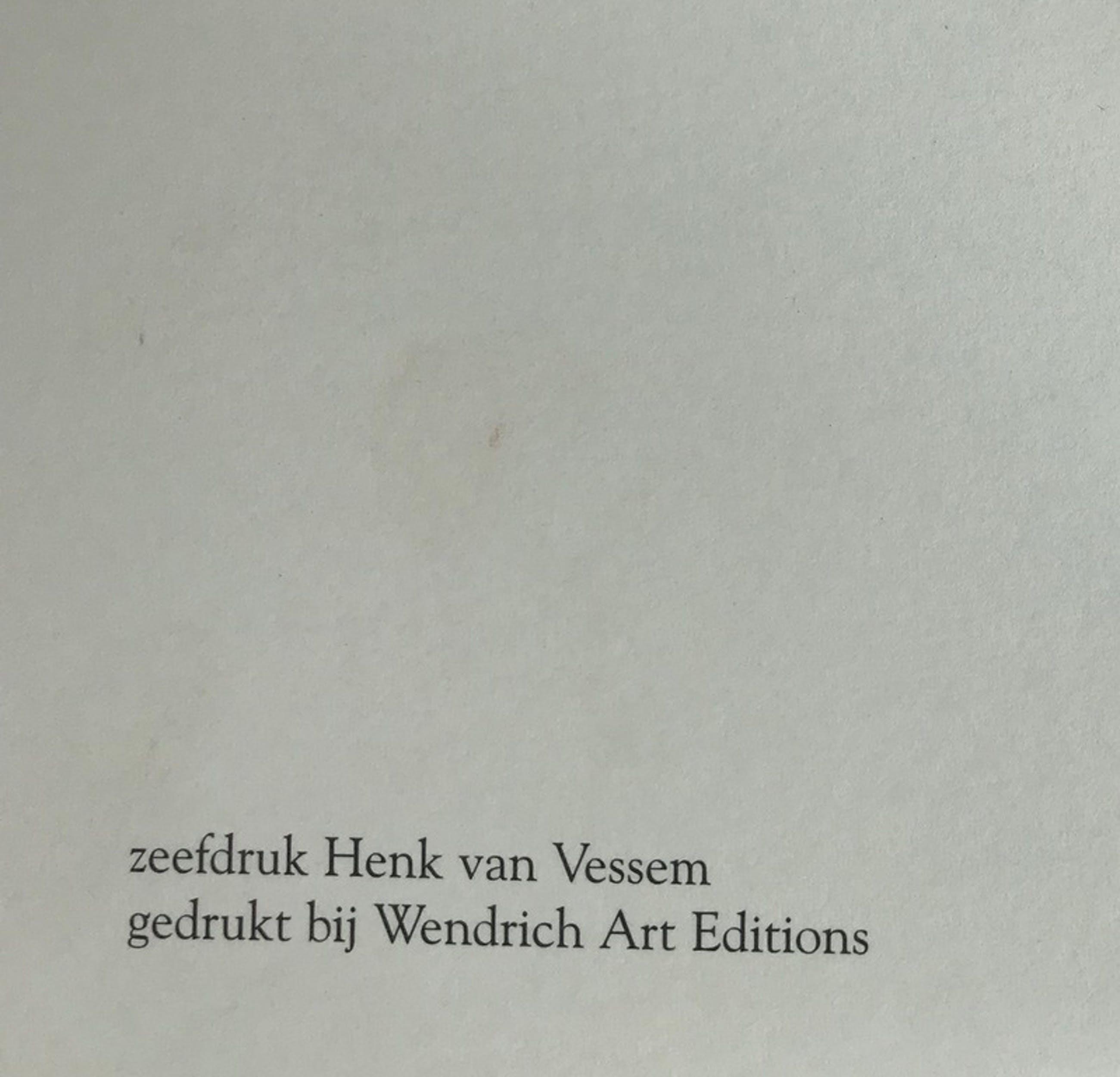 Henk Van Vessem - Zeefdruk - Gesigneerd kopen? Bied vanaf 1!