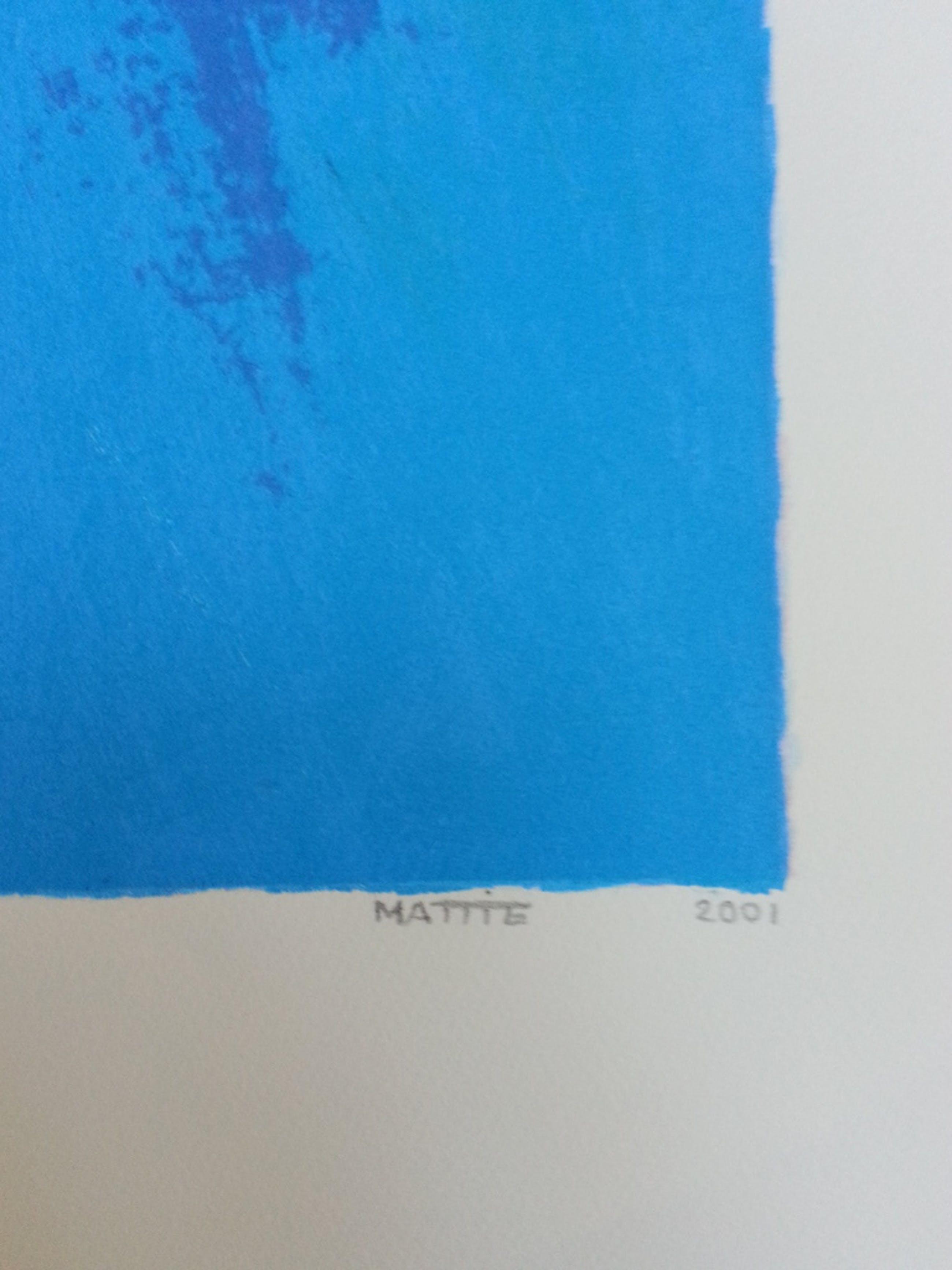 Mattie Schilders ,zeefdruk , titel  kopen? Bied vanaf 40!