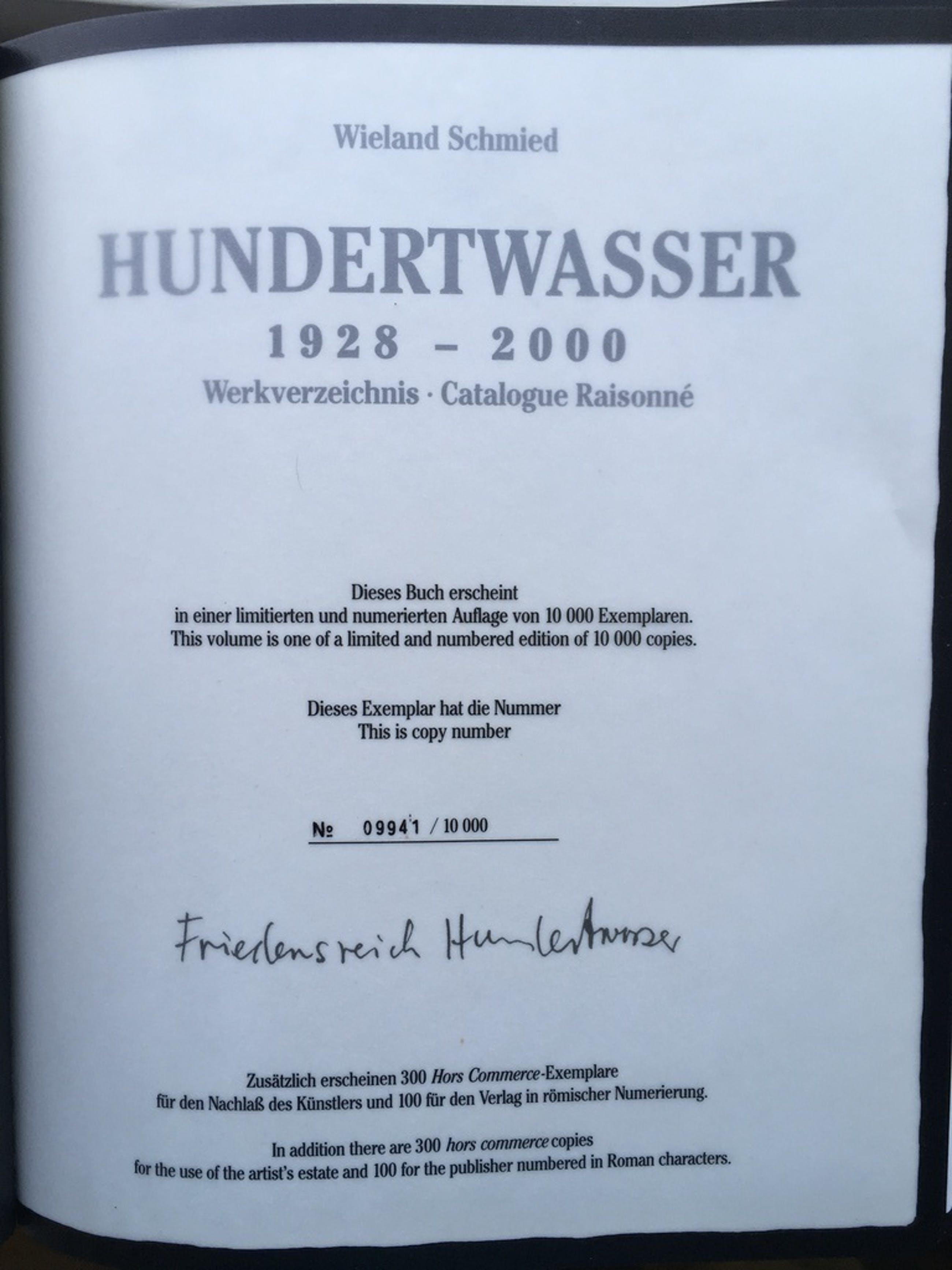 1928-2000 Hundertwasser kopen? Bied vanaf 50!
