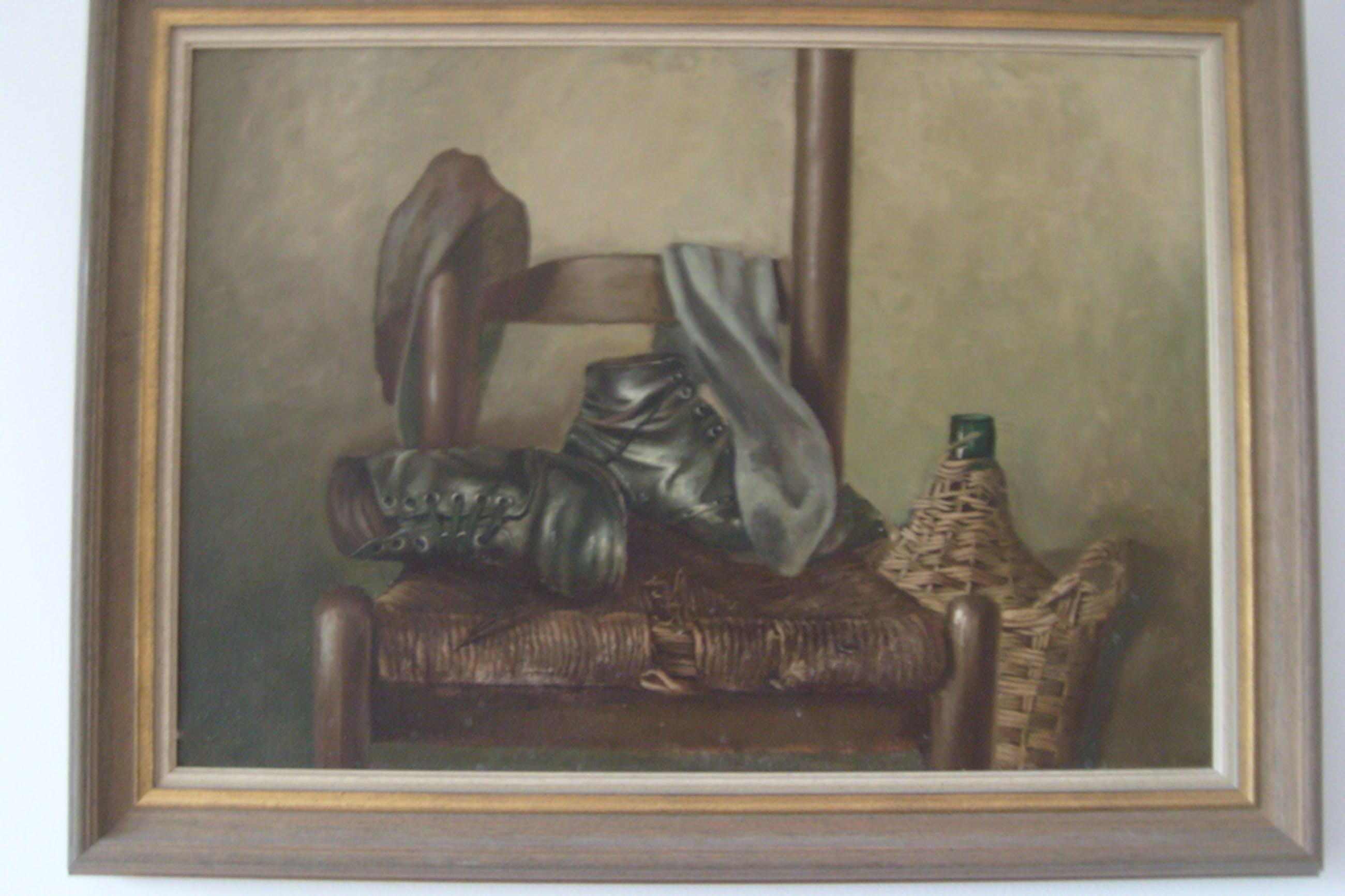 onbekende meester, stilleven, olieverf op linnen. kopen? Bied vanaf 150!
