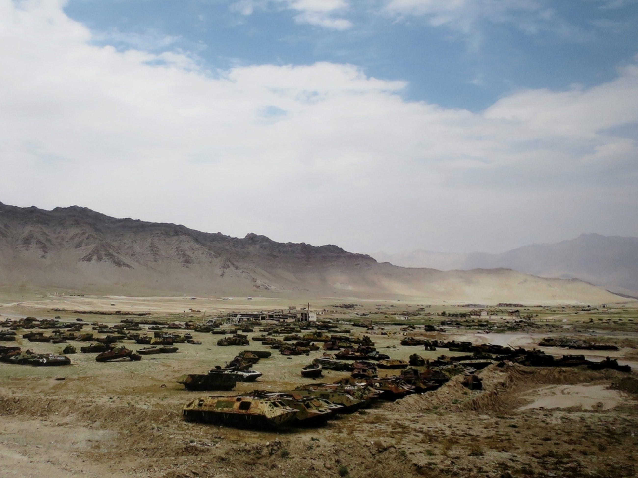 Hans Stakelbeek (1965)   Lambdaprint op Aluminium   Afghanistan - zeer groot! kopen? Bied vanaf 1!