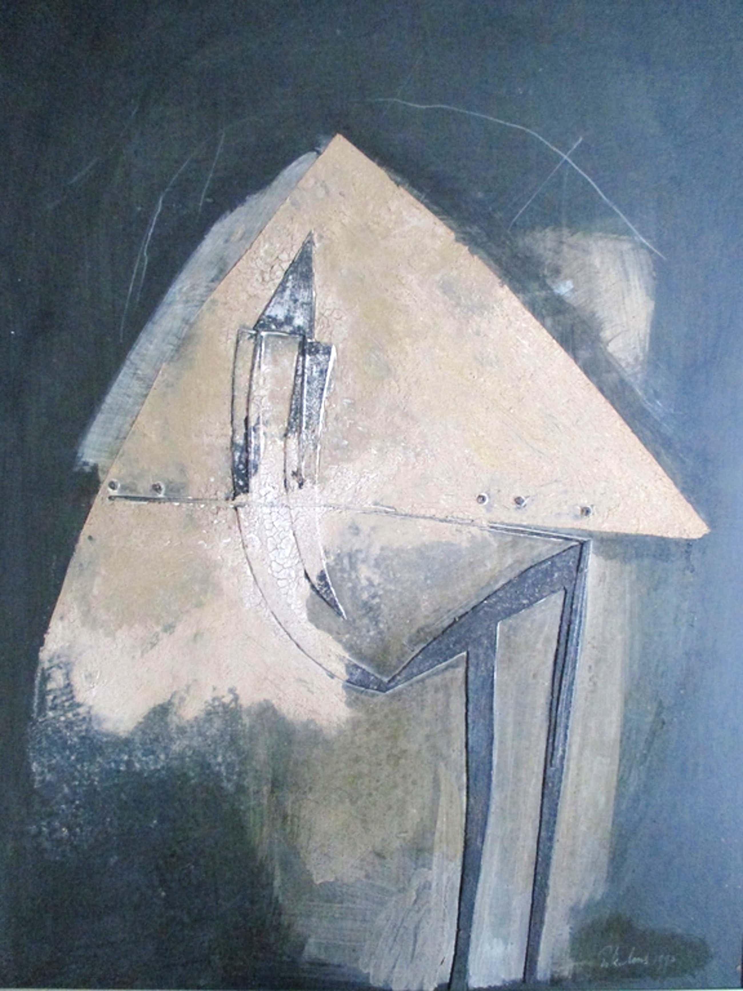 Henk Erkelens, materieschilderij kopen? Bied vanaf 130!