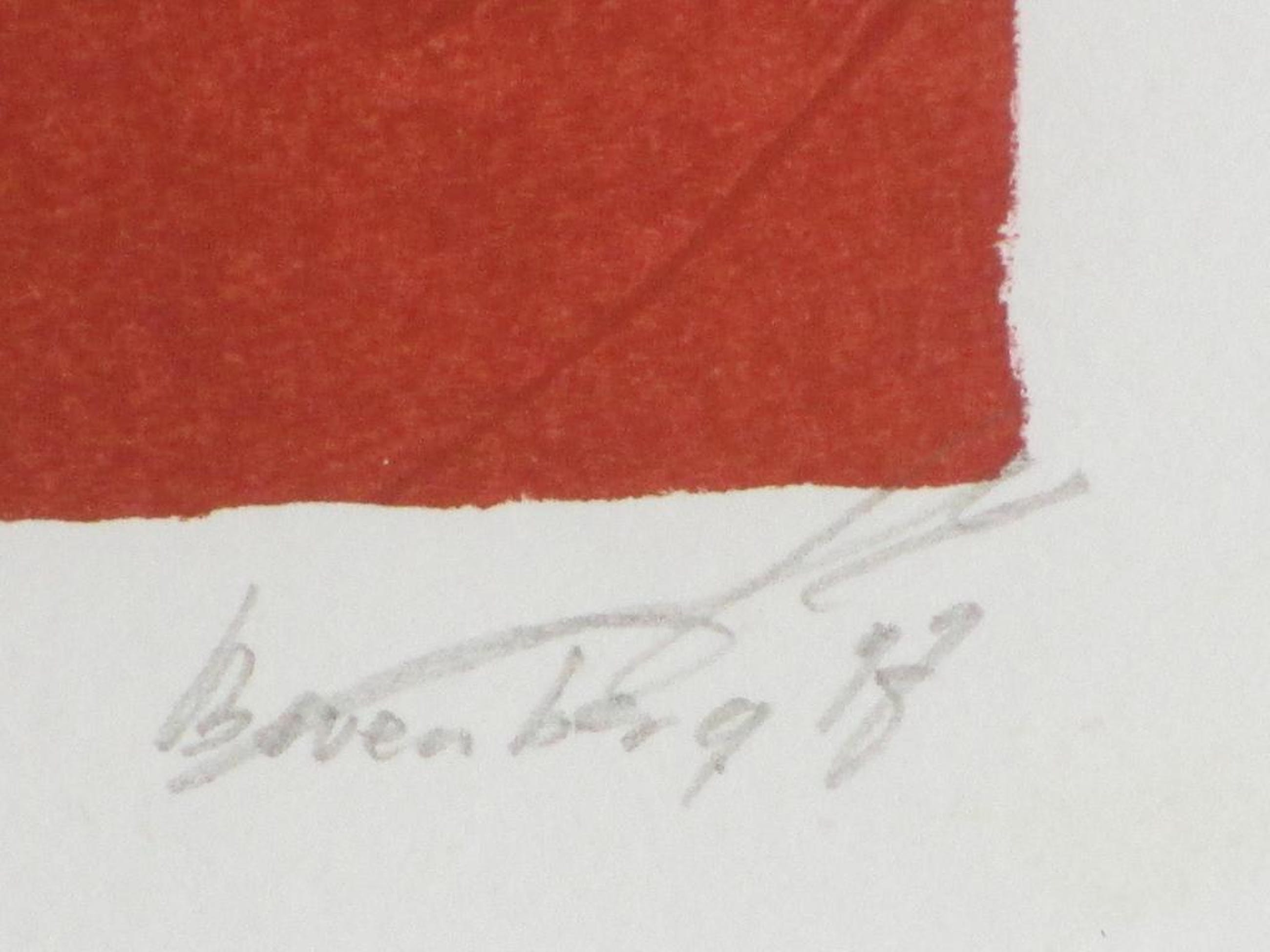 Gerard Bovenberg, Nergens huizen, Zeefdruk 1997 kopen? Bied vanaf 35!