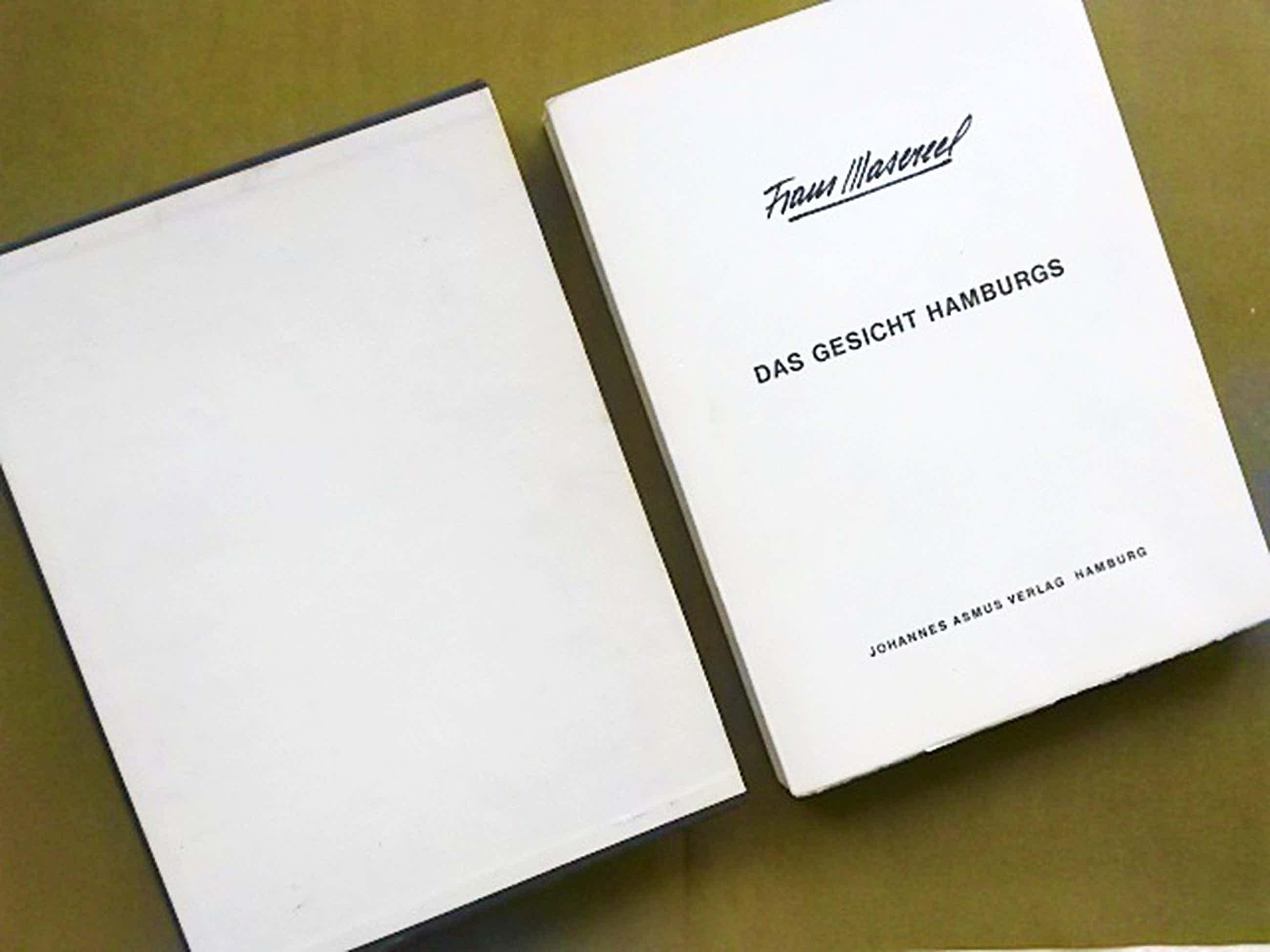 Frans Masereel, Das Gesicht Hamburgs, 1964 kopen? Bied vanaf 235!