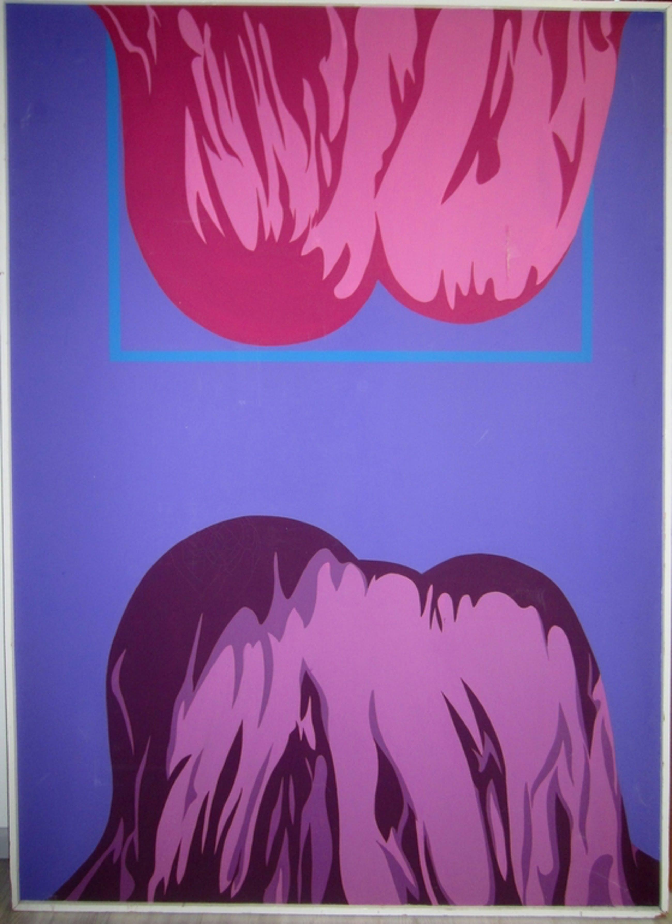 Martien de Kler (1943) - Abstrakt No. 1 - olieverf op doek kopen? Bied vanaf 1!
