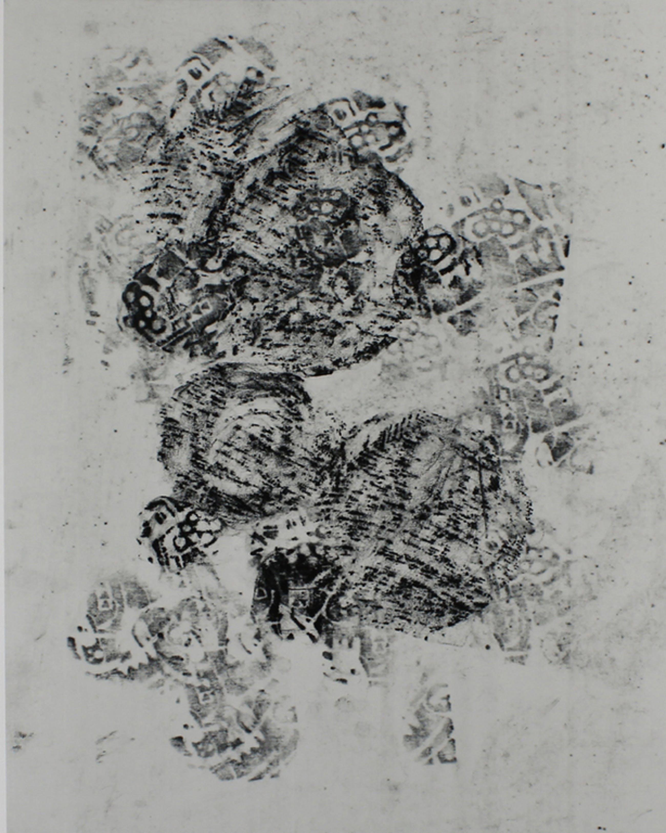 Adochi. - Komposition I - Pigmentdruk op katoenpapier. 2016. kopen? Bied vanaf 37!