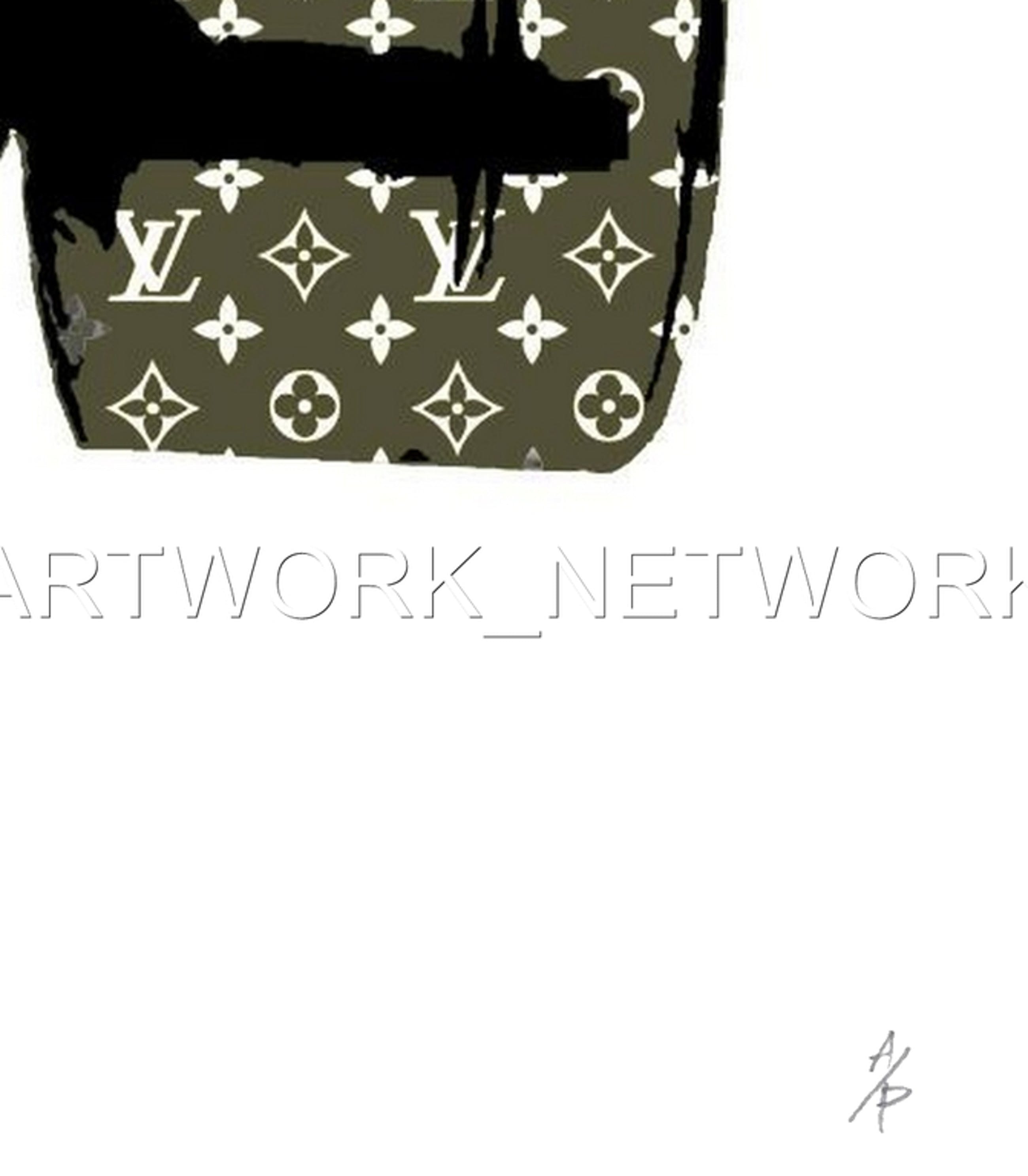 """DEATH NYC - """"Green Mask""""- n° A/P - Signed with COA (Edition Artist Proof) kopen? Bied vanaf 15!"""