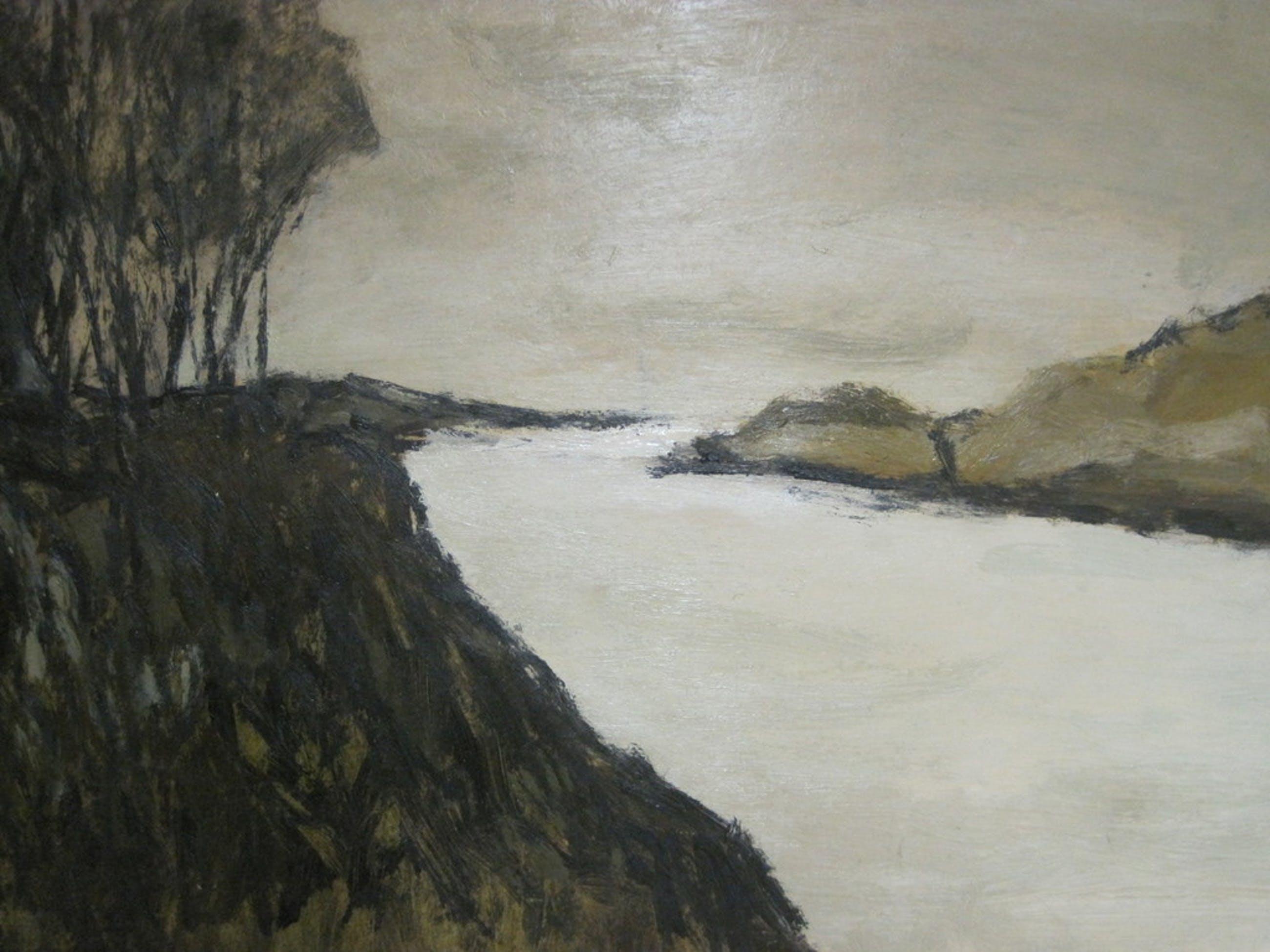 Metten Koornstra 1912-1978 olieverf landschap Frankrijk  kopen? Bied vanaf 250!