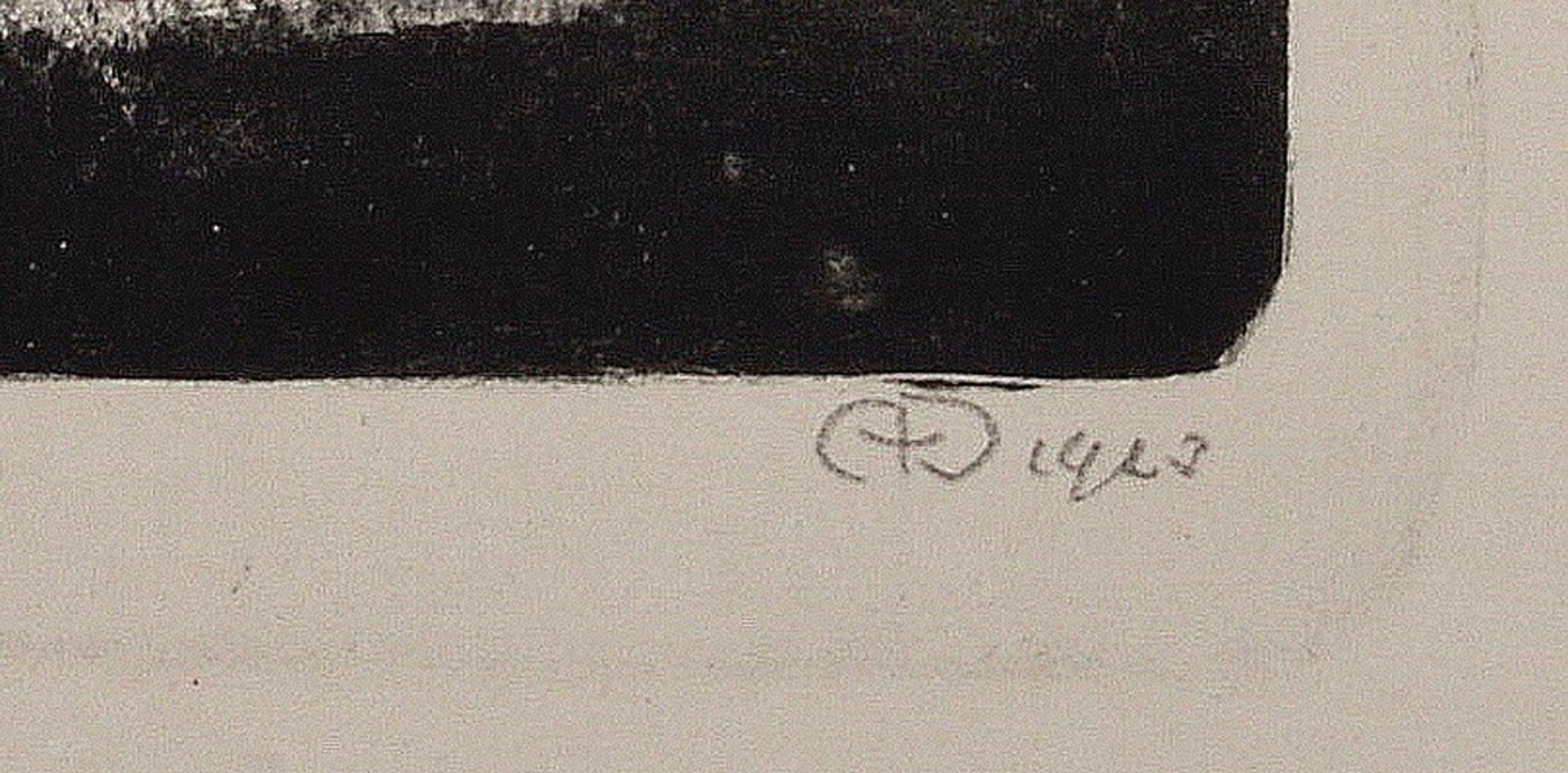 Aart van Dobbenburgh: Litho - Wolkenstudies - 1923  kopen? Bied vanaf 55!