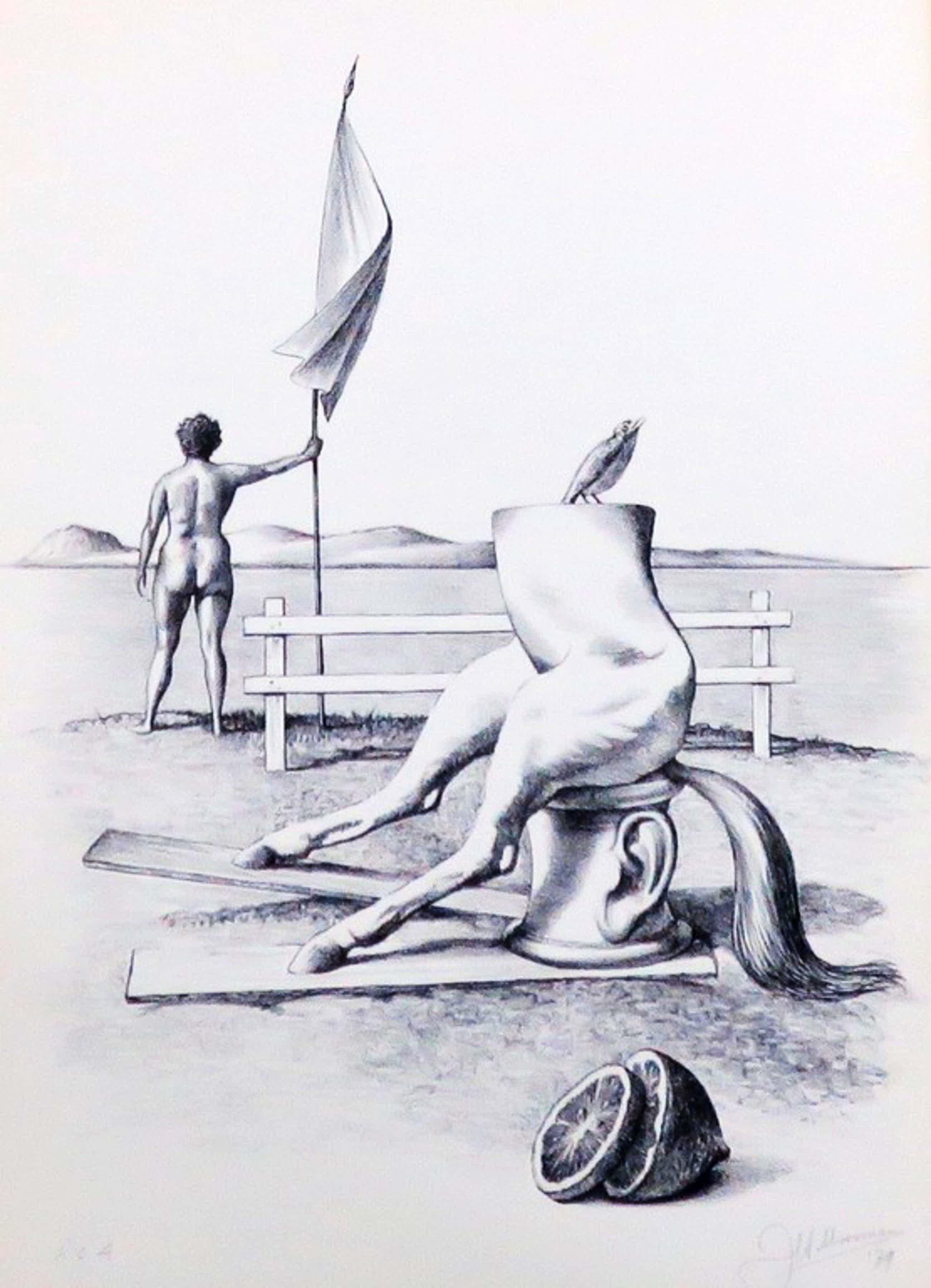 Eerste uitgave van Petit met door Dirkje Kuik gedrukte litho van Joop Moesman kopen? Bied vanaf 160!