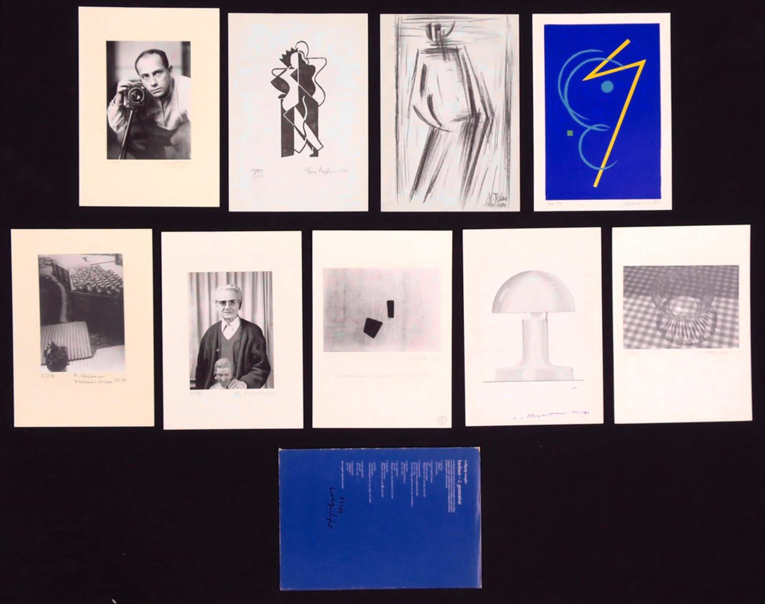 Bauhaus 2. Generation: Foto's en litho's (9 stuks) van o.a. Paul Citroen kopen? Bied vanaf 80!