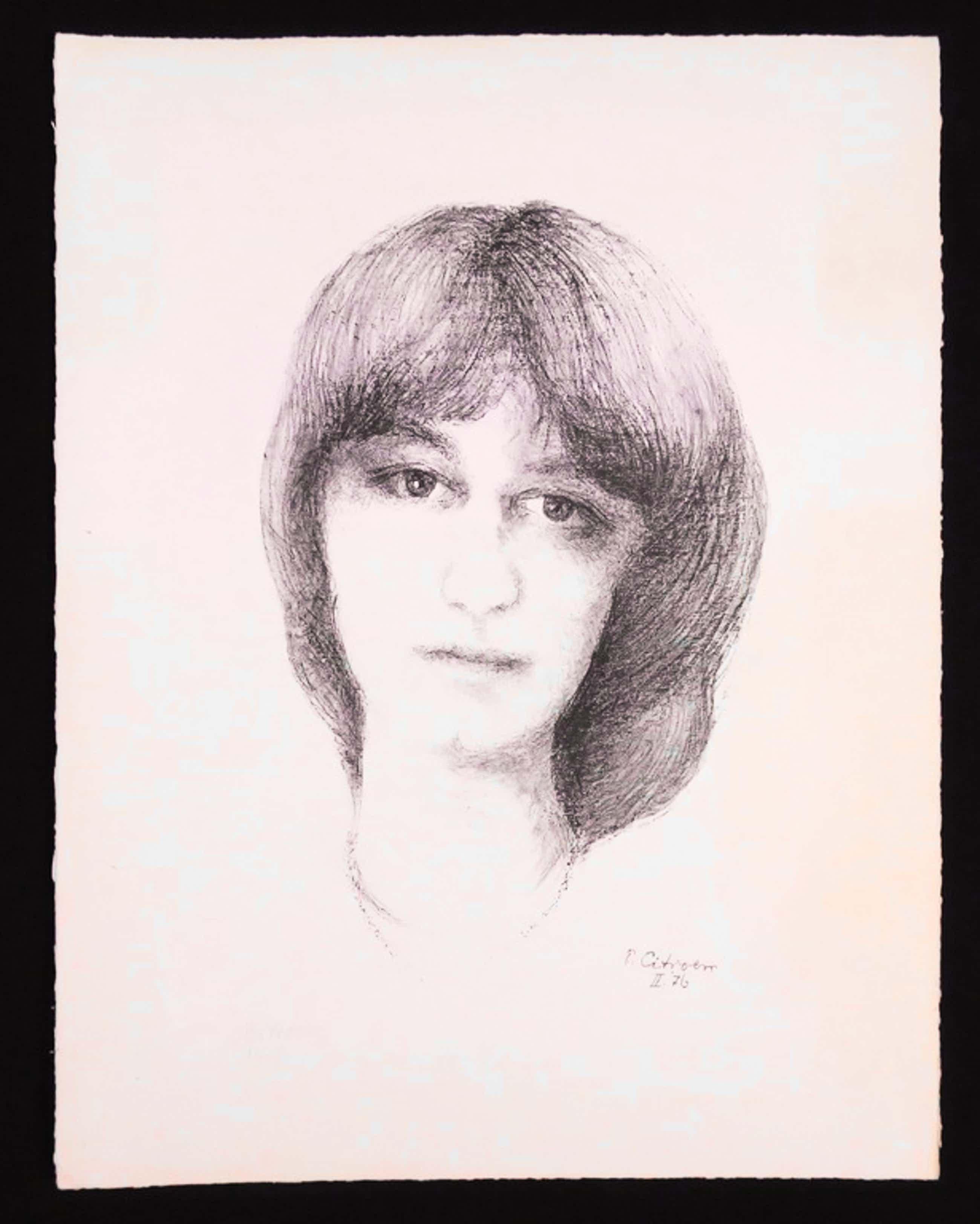 Paul Citroen: Litho, Portret van een vrouw kopen? Bied vanaf 35!
