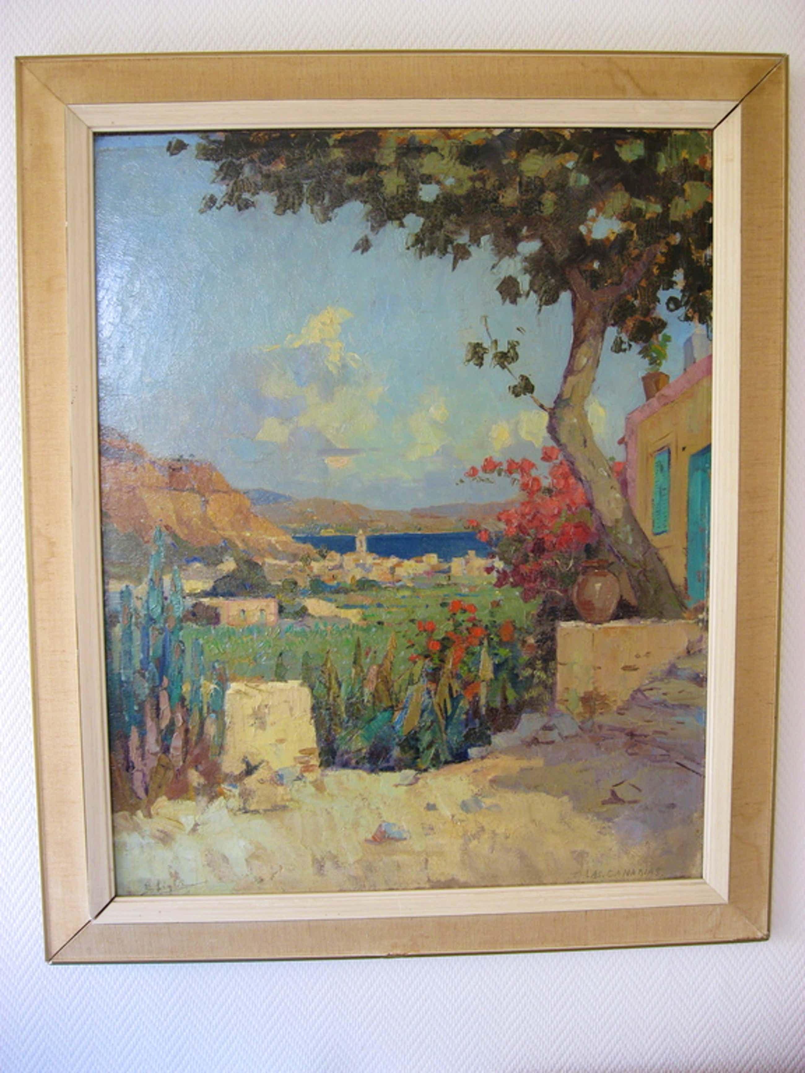LAS CANARIAS, olieverfschilderij van Evert-Jan Ligtelijn kopen? Bied vanaf 175!