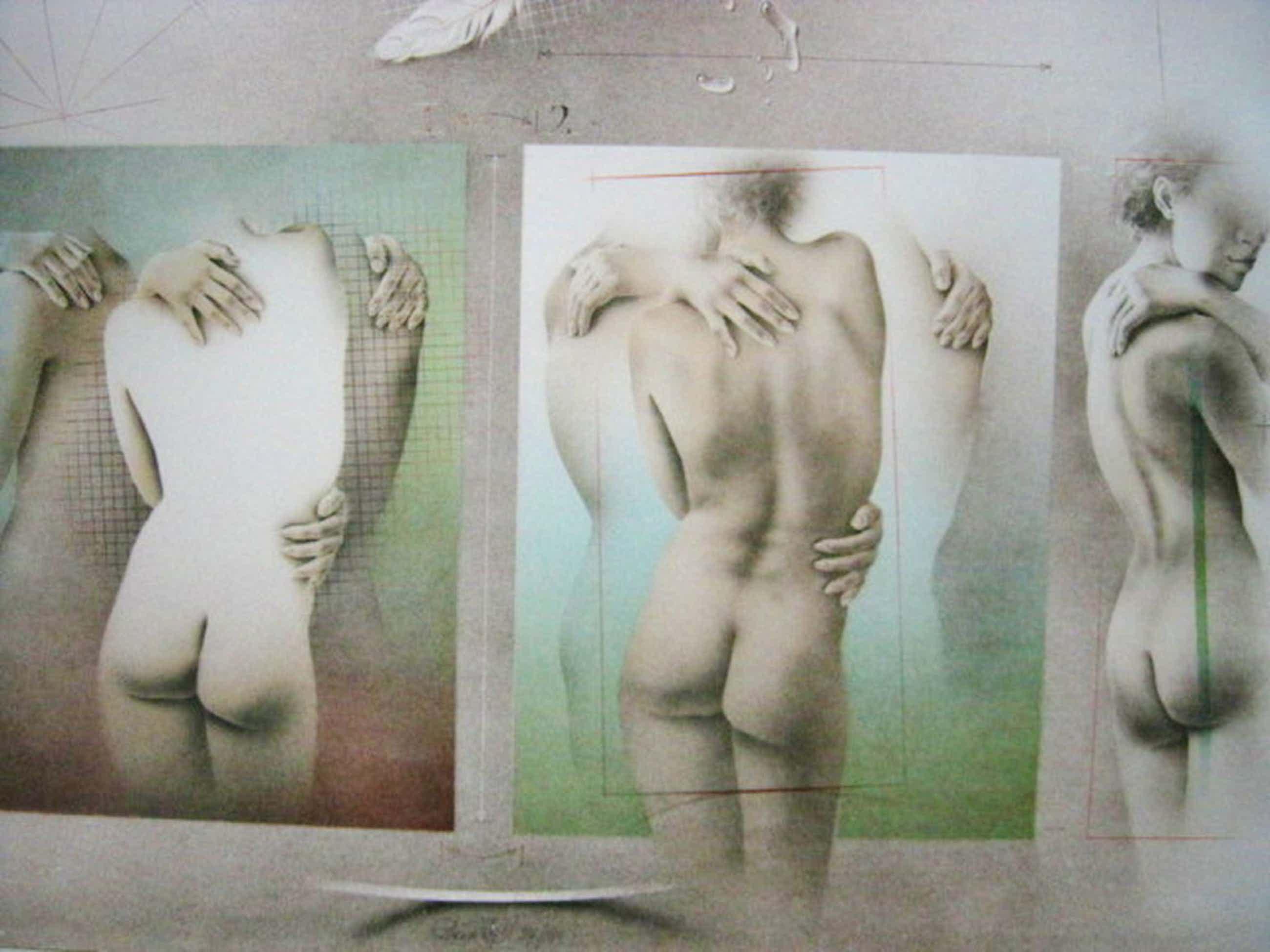 """typerend Realisme van Poen de Wijs (1948-2014) gesigneerde Litho """"la Modella"""" kopen? Bied vanaf 41!"""