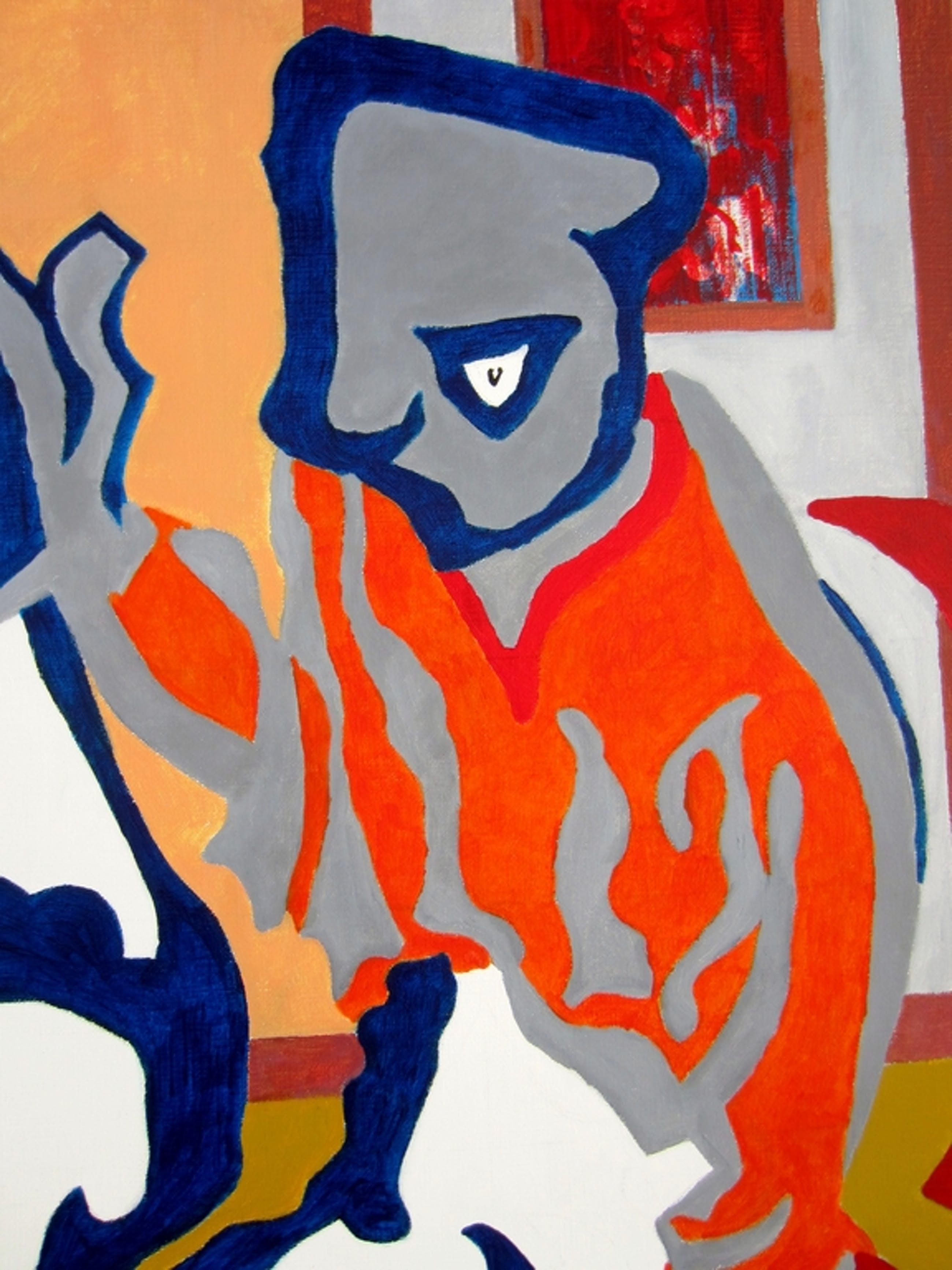 Eric Pool (1937-2012) - Amstelveen - Acryl - Het Jackje kopen? Bied vanaf 125!