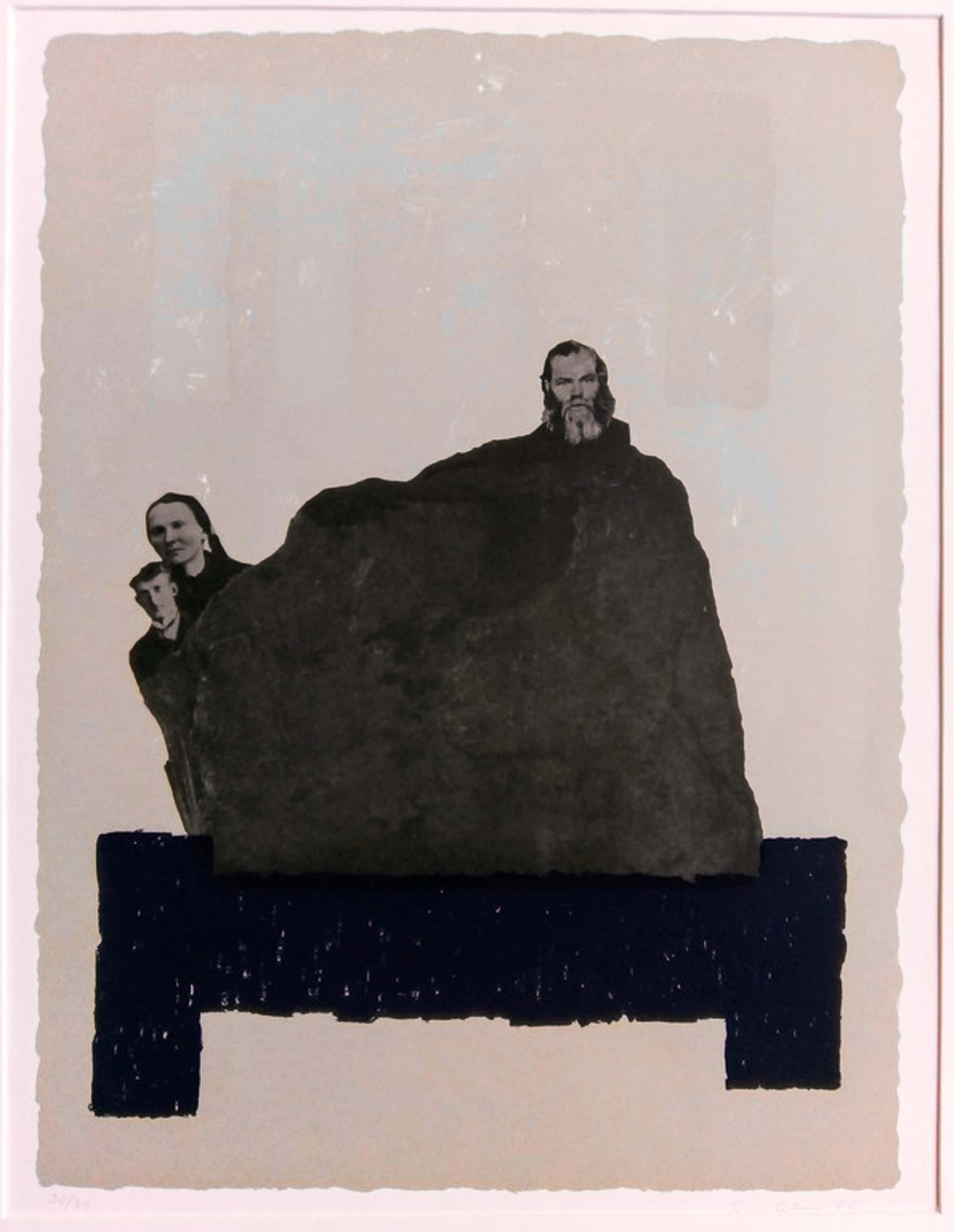 Sigurdur Gudmundsson - modern werk uit 1986. kopen? Bied vanaf 120!