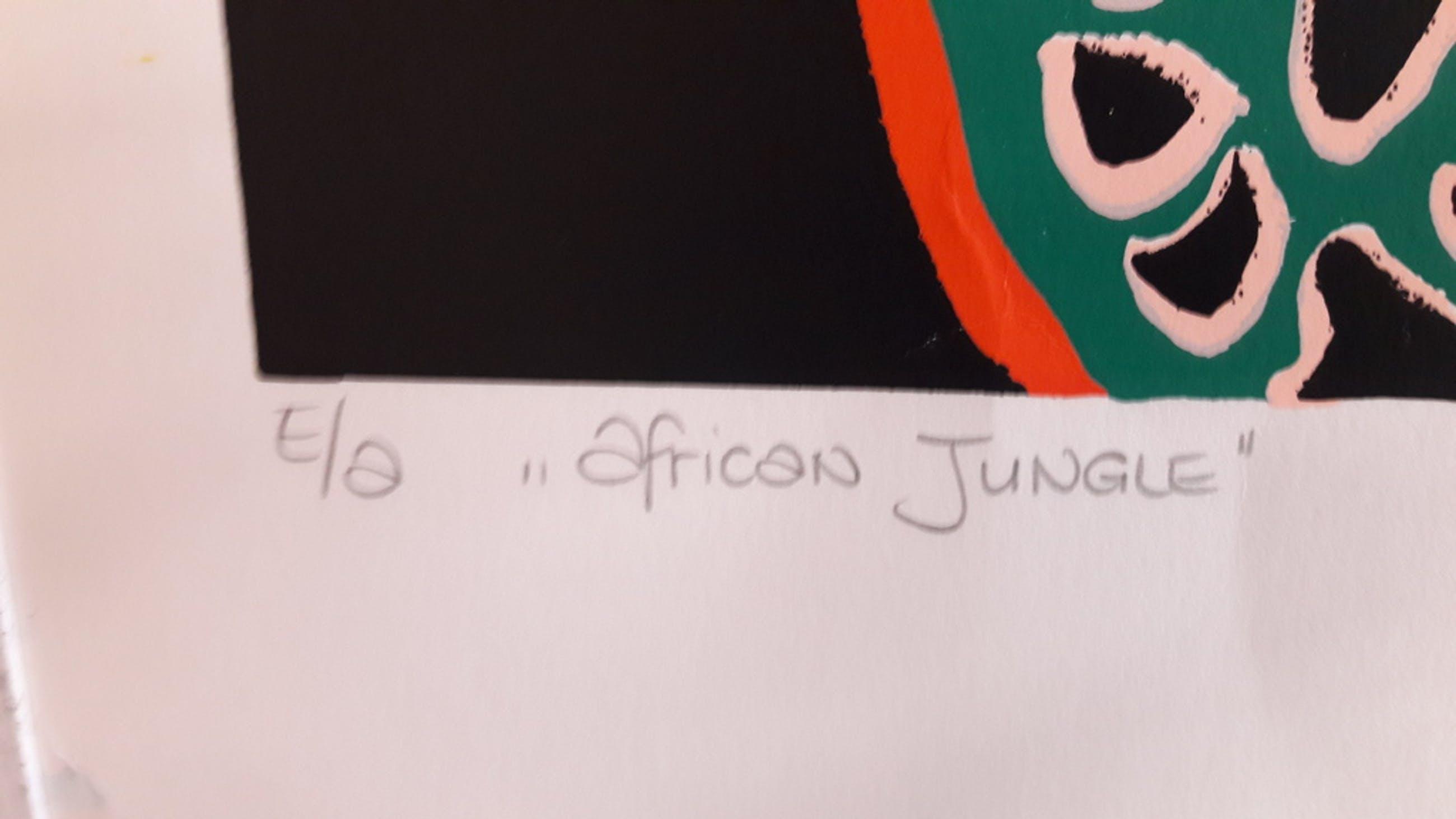 M Naerebout, titel: African Jungle kopen? Bied vanaf 95!