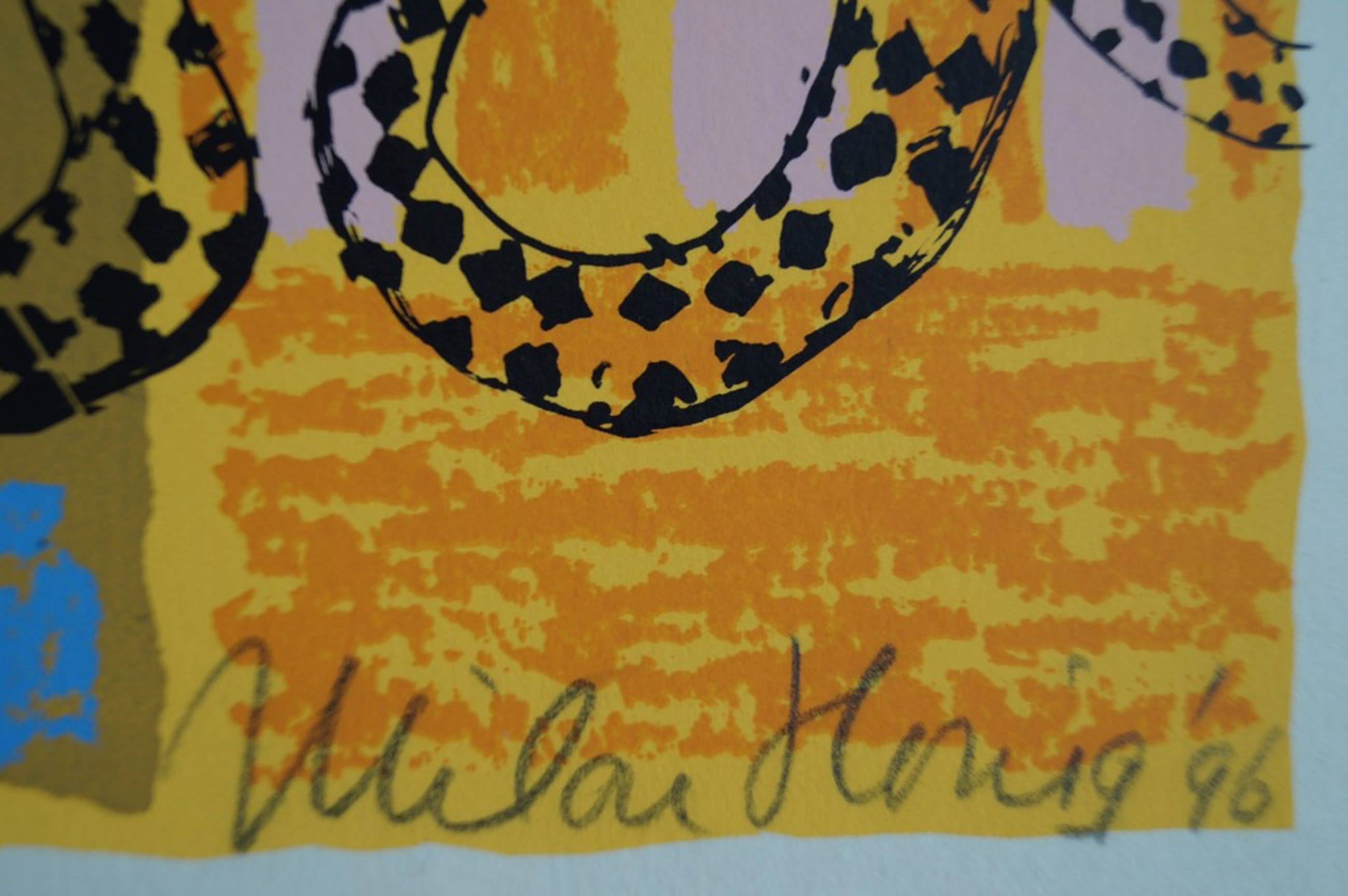 Milou Honig - Epke I - gesigneerde zeefdruk - oplage 24 ex. 1996 kopen? Bied vanaf 1!