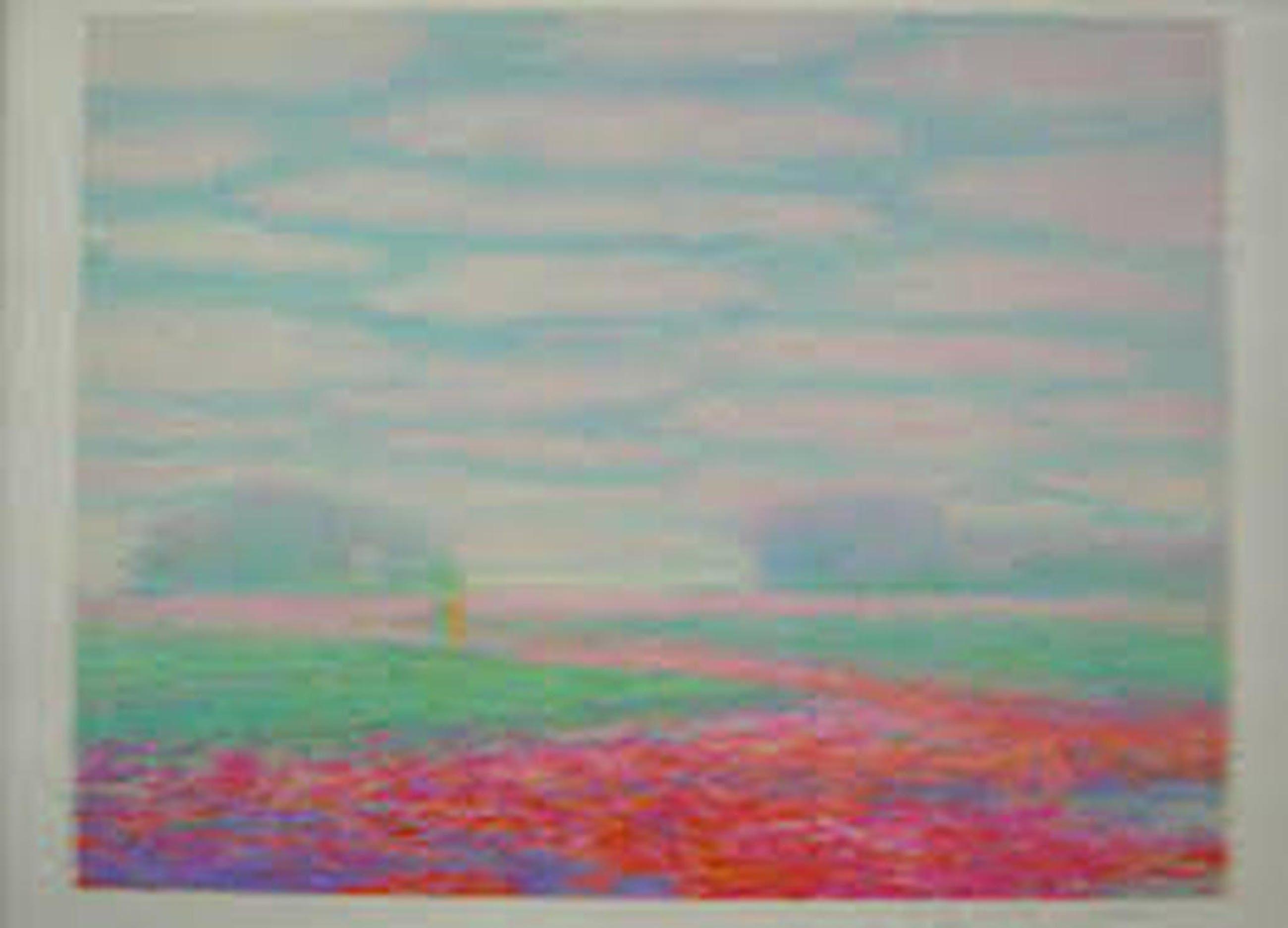 Jean Fernand - Orly le Trois Hetres - Litho - Handgesigneerd - Opl. 170+180 kopen? Bied vanaf 1!