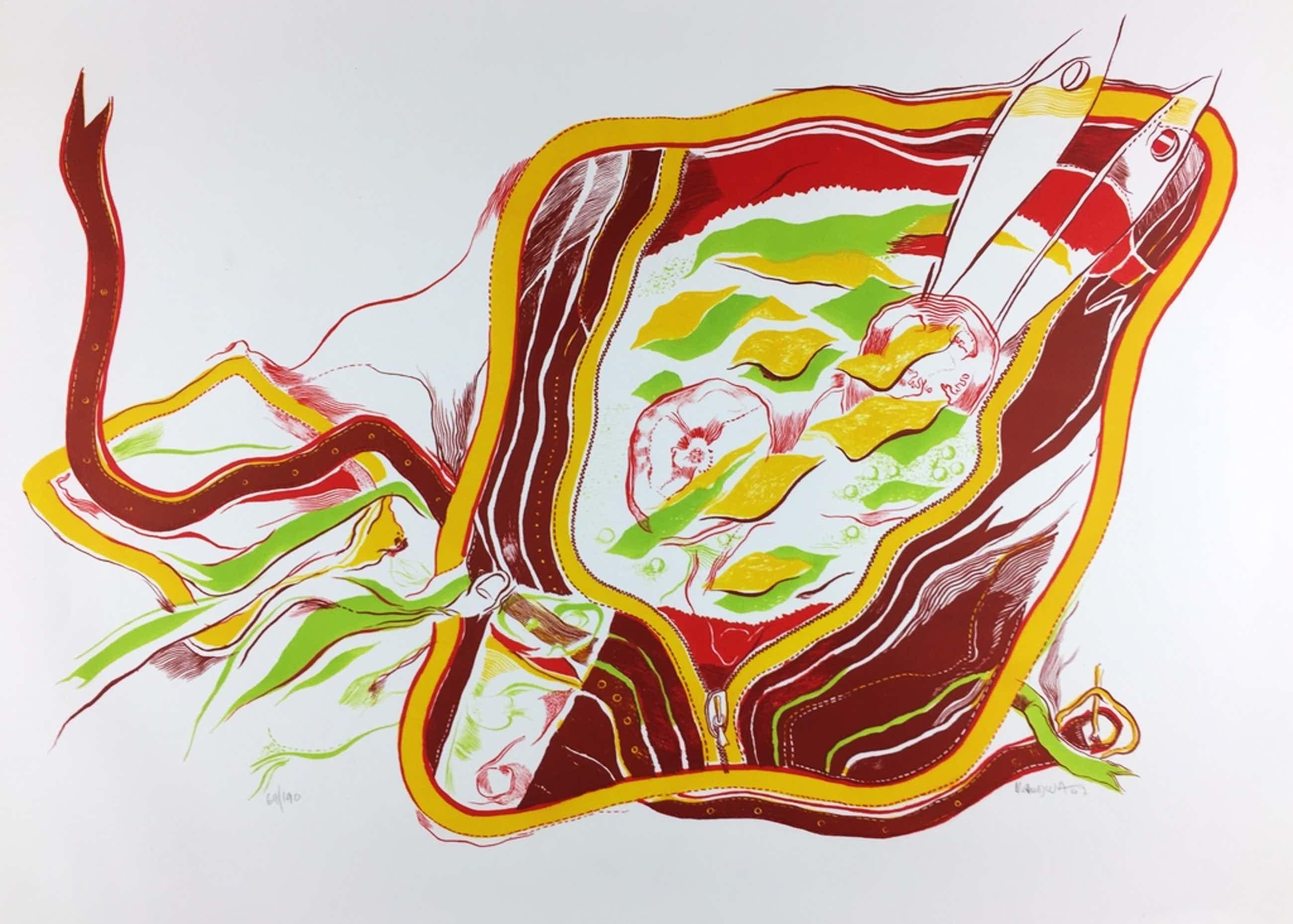 Michel Cardenas - Michel Cardena, kleurenlitho, Prent 190, 1967 kopen? Bied vanaf 60!
