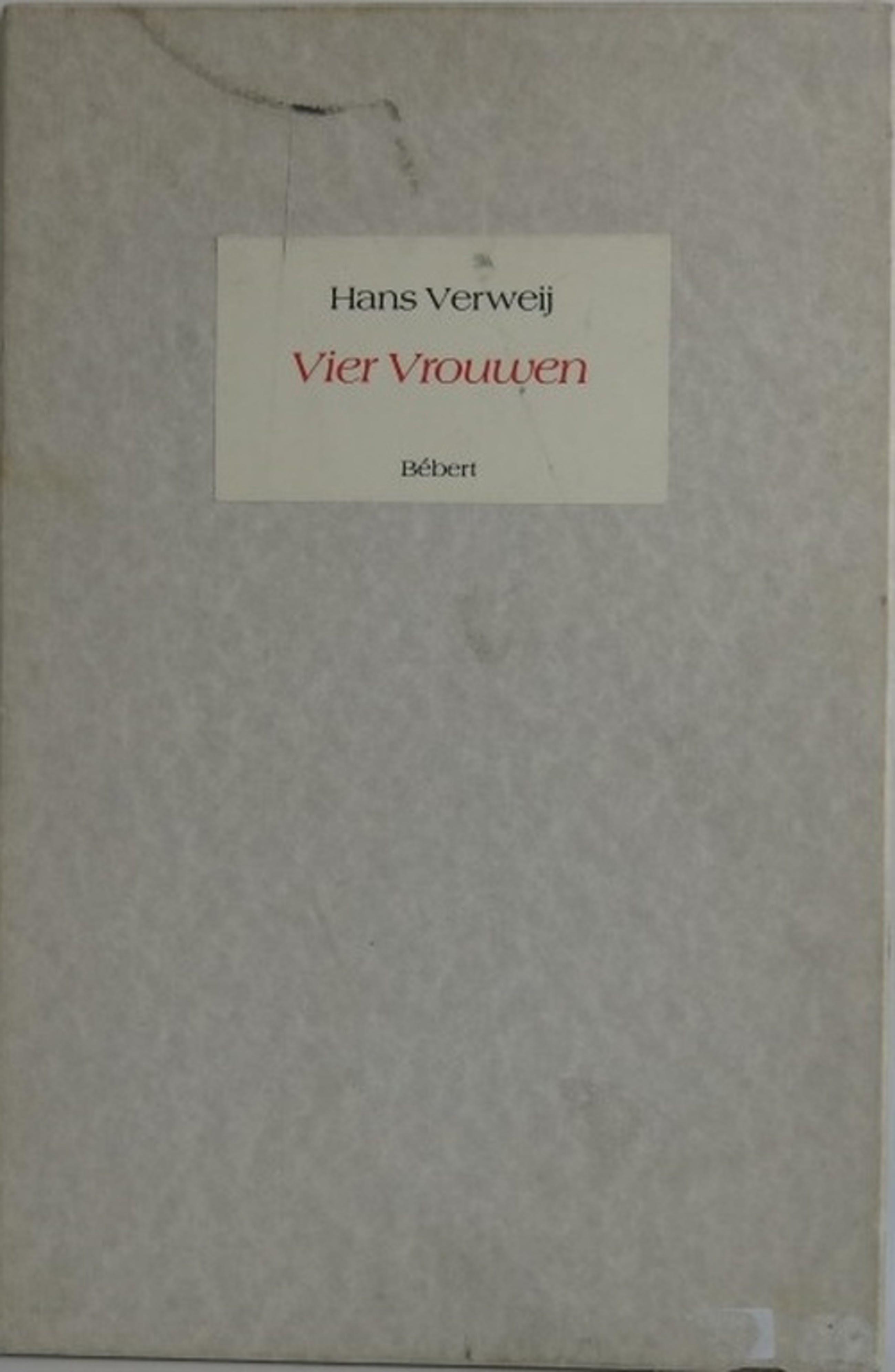 Hans Verweij: Portfolio met 4 Litho's, Vier Vrouwen kopen? Bied vanaf 1!