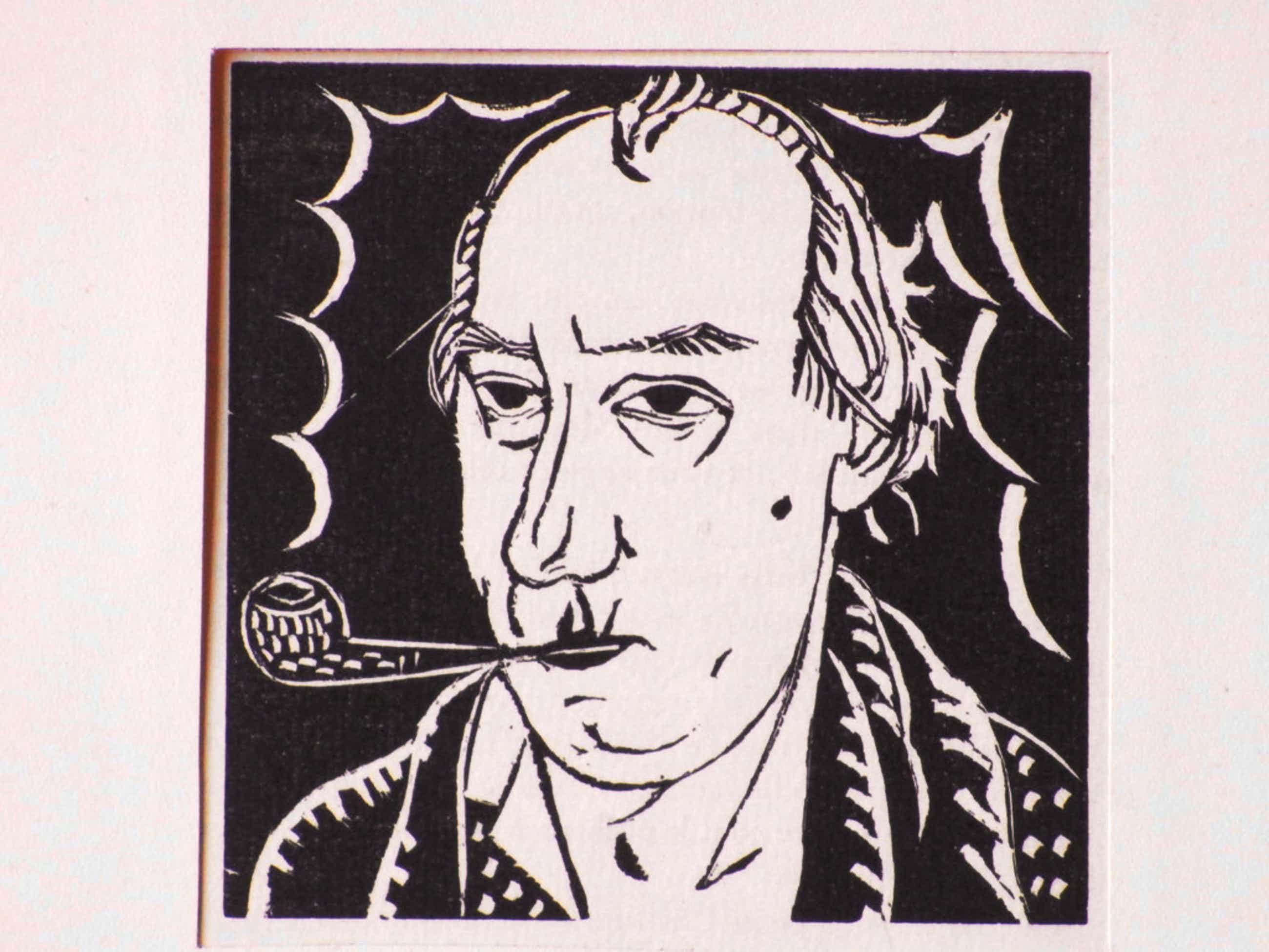 Edgar Tijtgat, Zelfportret, Houtsnede kopen? Bied vanaf 65!
