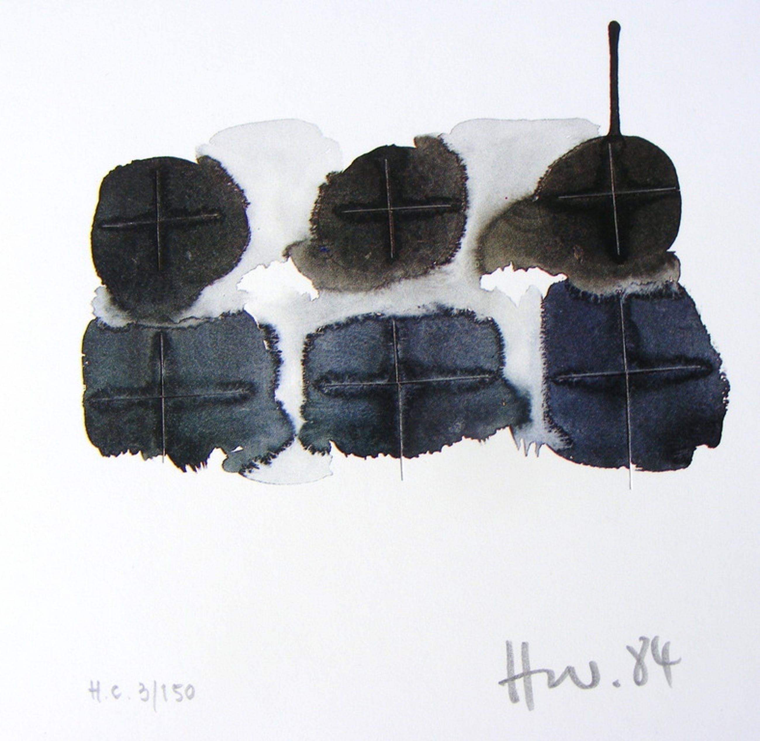 Wolfgang Heuwinkel, set van drie 3-D grafieken, handgesigneerd, 1984 kopen? Bied vanaf 45!