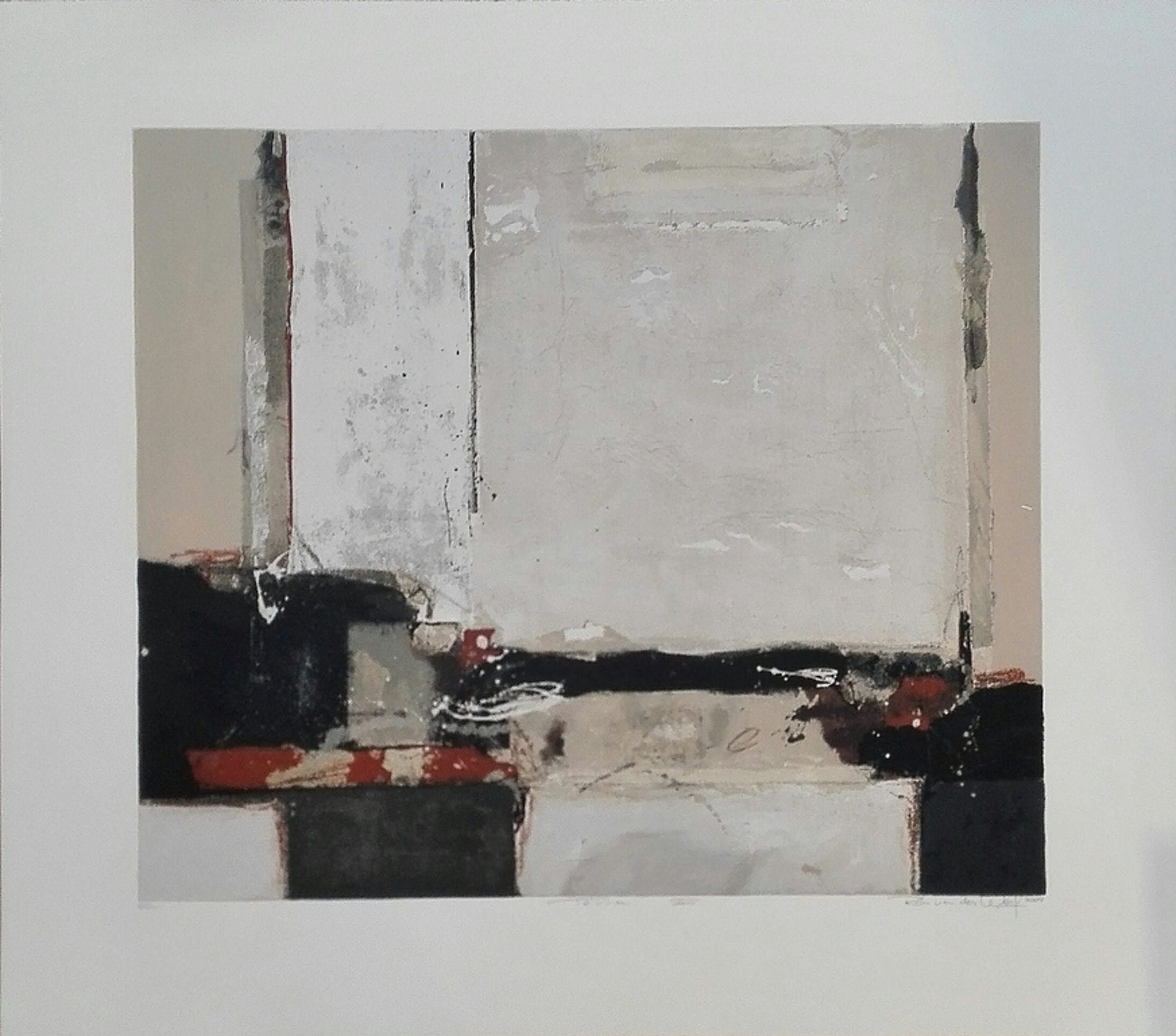 Ron van der Werf, zeefdruk op papier, Titel: Terra II kopen? Bied vanaf 75!