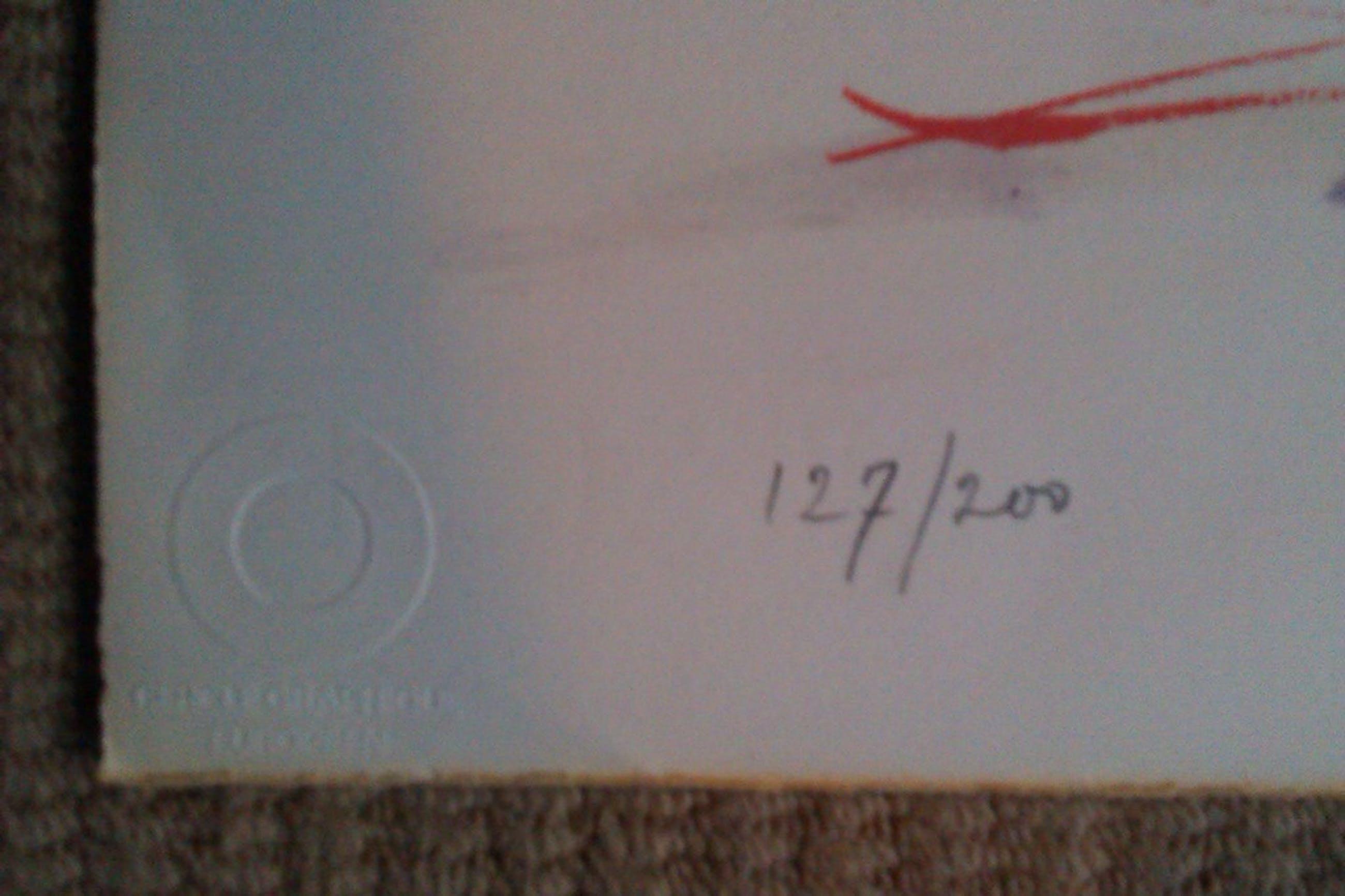 Jean Bazaine, kleurenlitho, zonder titel, handgesigneerd kopen? Bied vanaf 50!